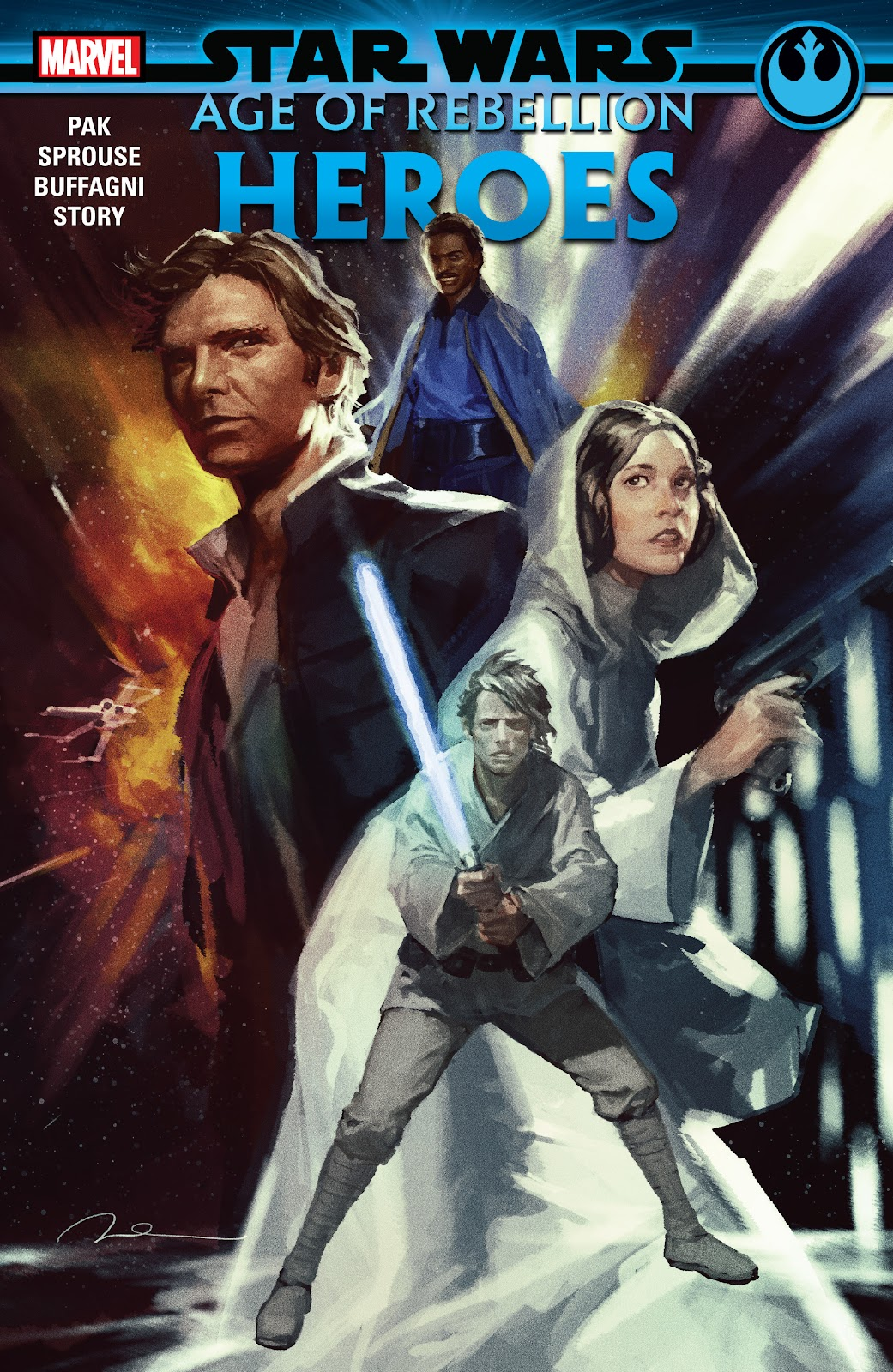 Read online Star Wars: Age of Rebellion - Heroes comic -  Issue # TPB - 1