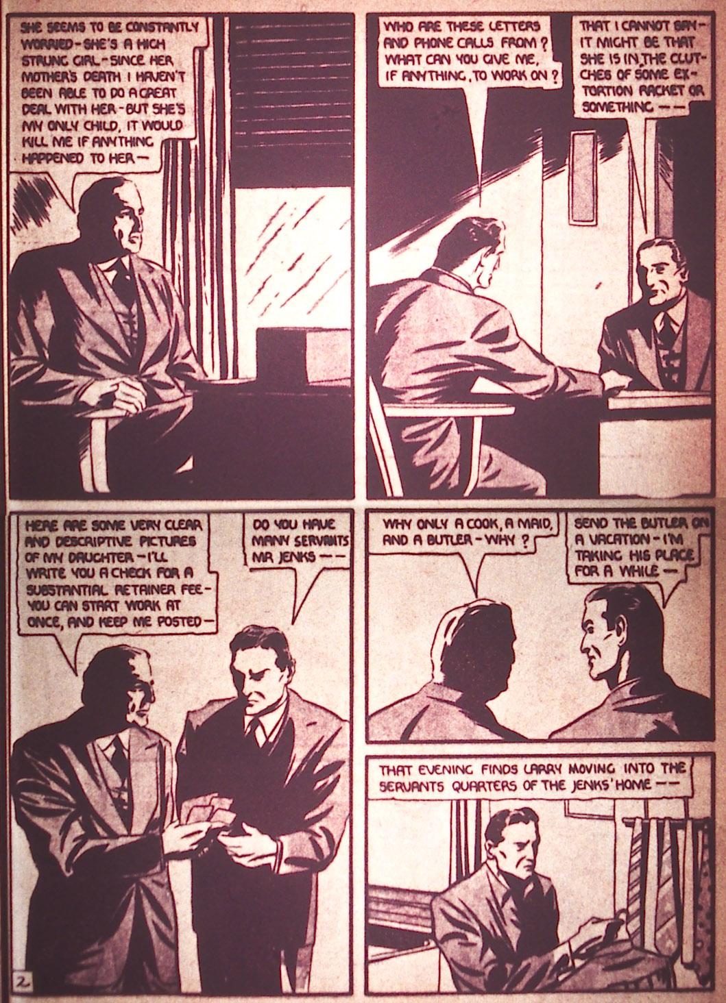 Read online Detective Comics (1937) comic -  Issue #12 - 17