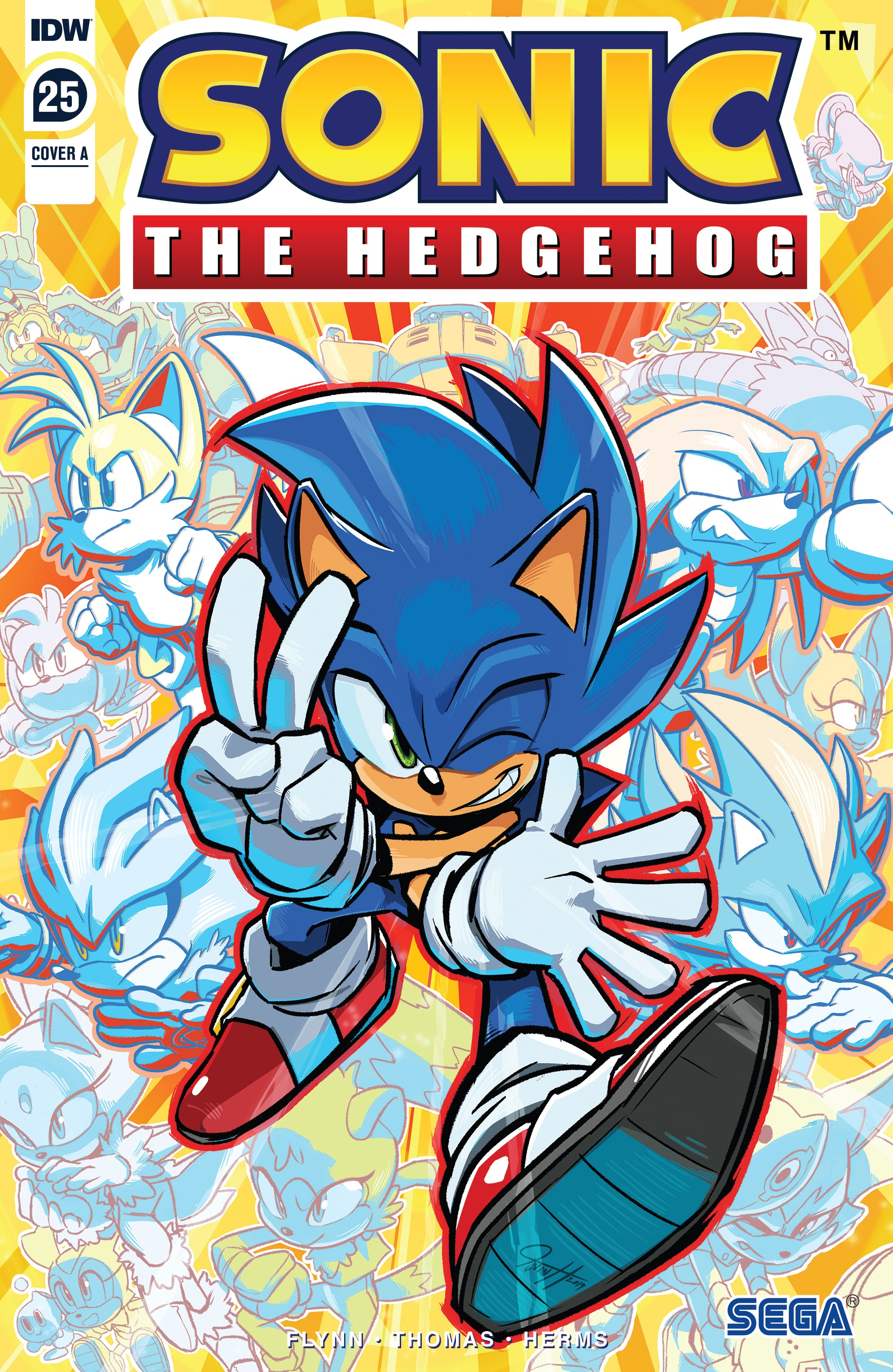 Sonic the Hedgehog (2018) 25 Page 1