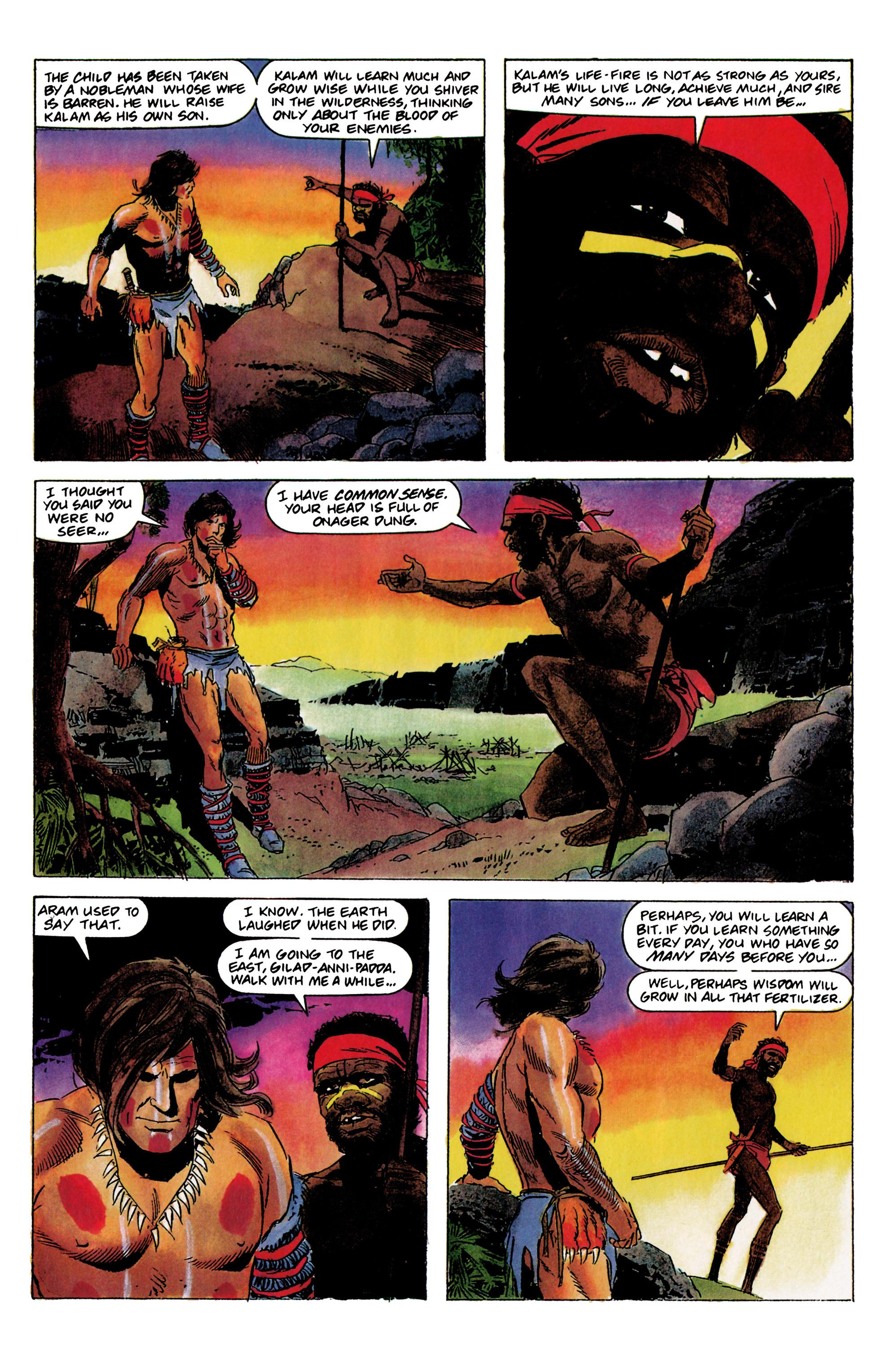Read online Eternal Warrior (1992) comic -  Issue #1 - 17