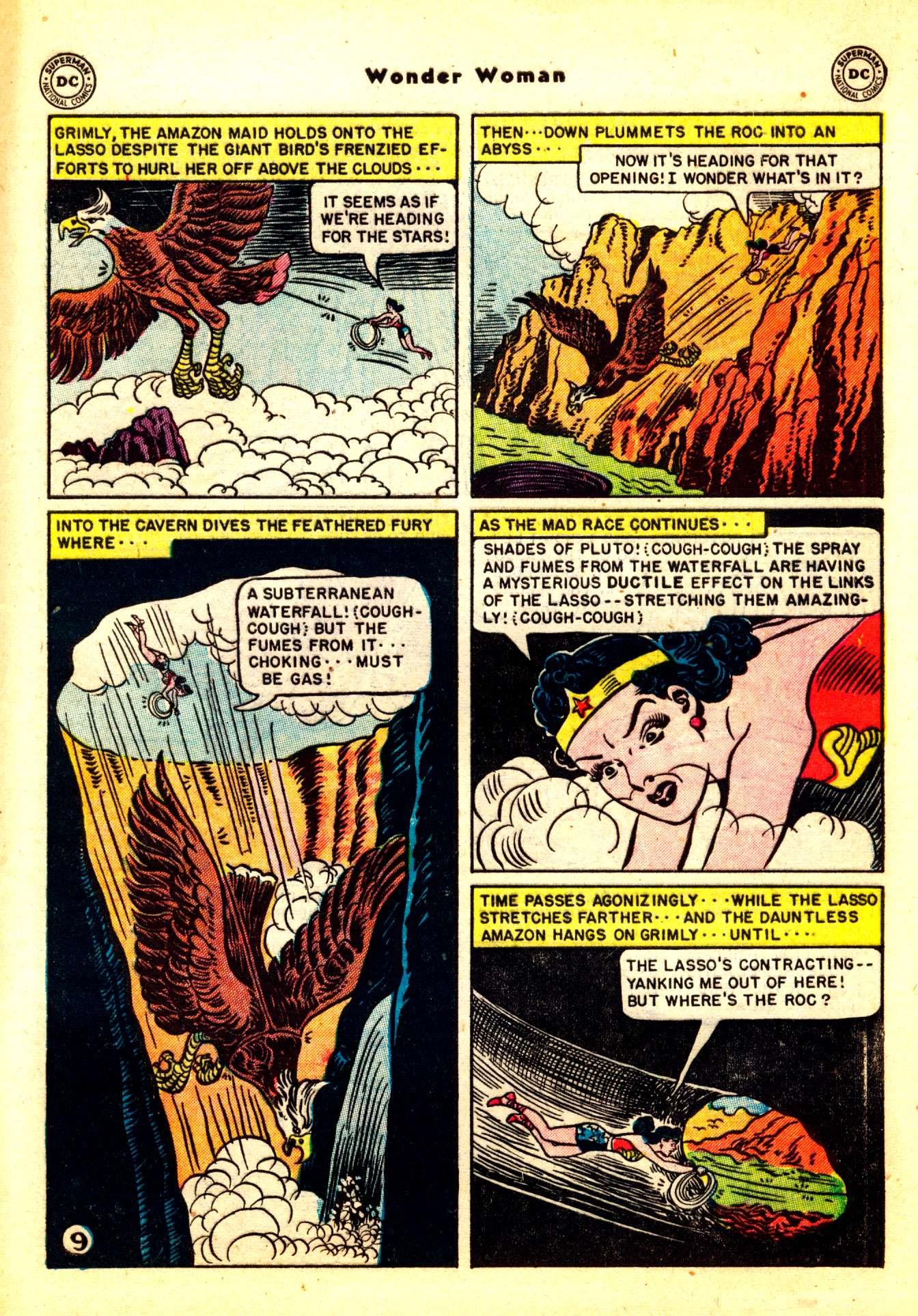 Read online Wonder Woman (1942) comic -  Issue #50 - 39