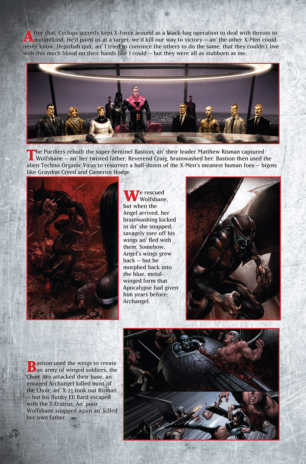 Read online Uncanny X-Force (2010) comic -  Issue #1 - 27