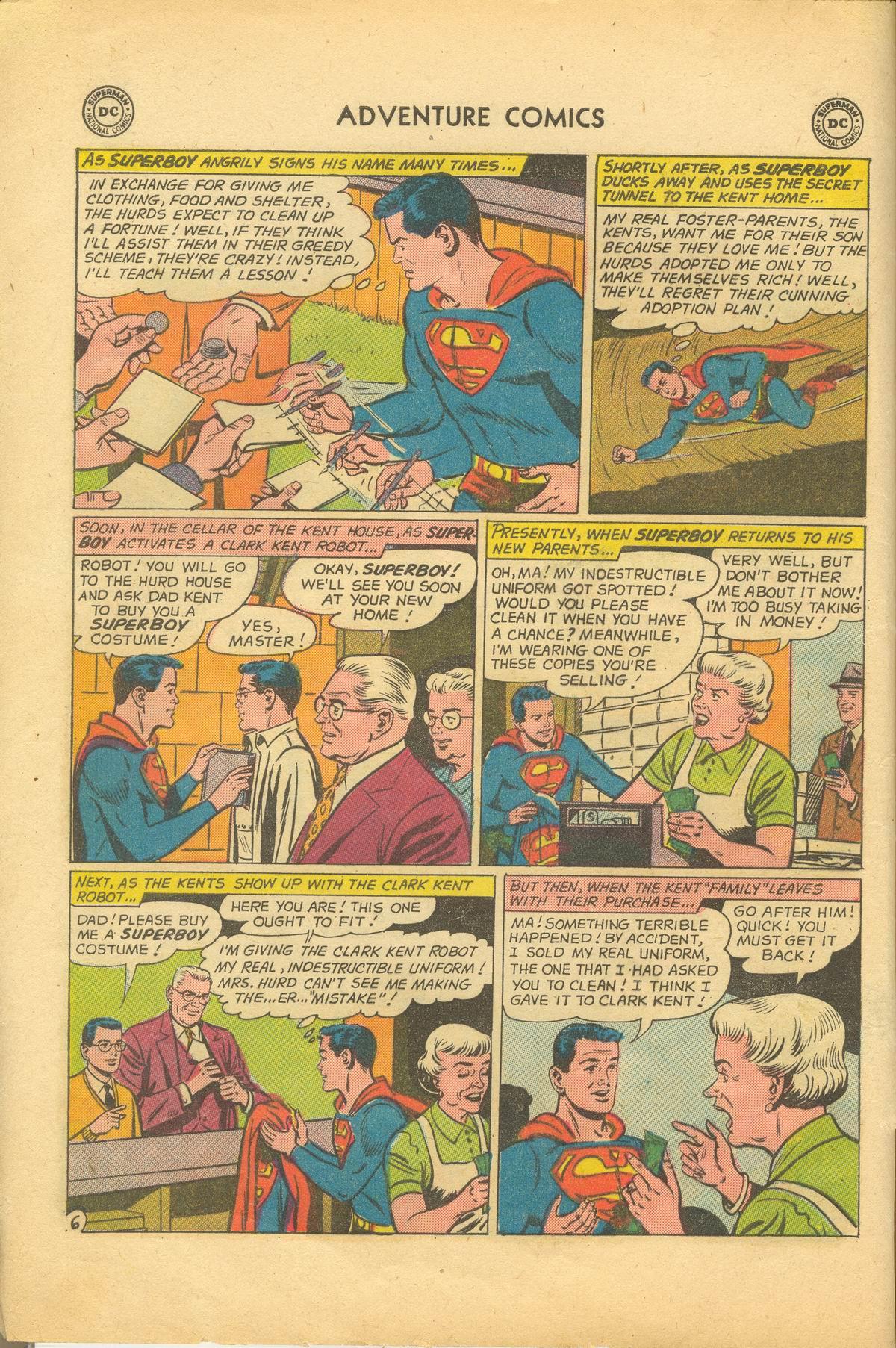 Read online Adventure Comics (1938) comic -  Issue #281 - 8