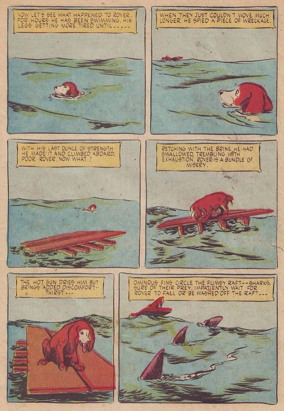 Read online Animal Comics comic -  Issue #28 - 7