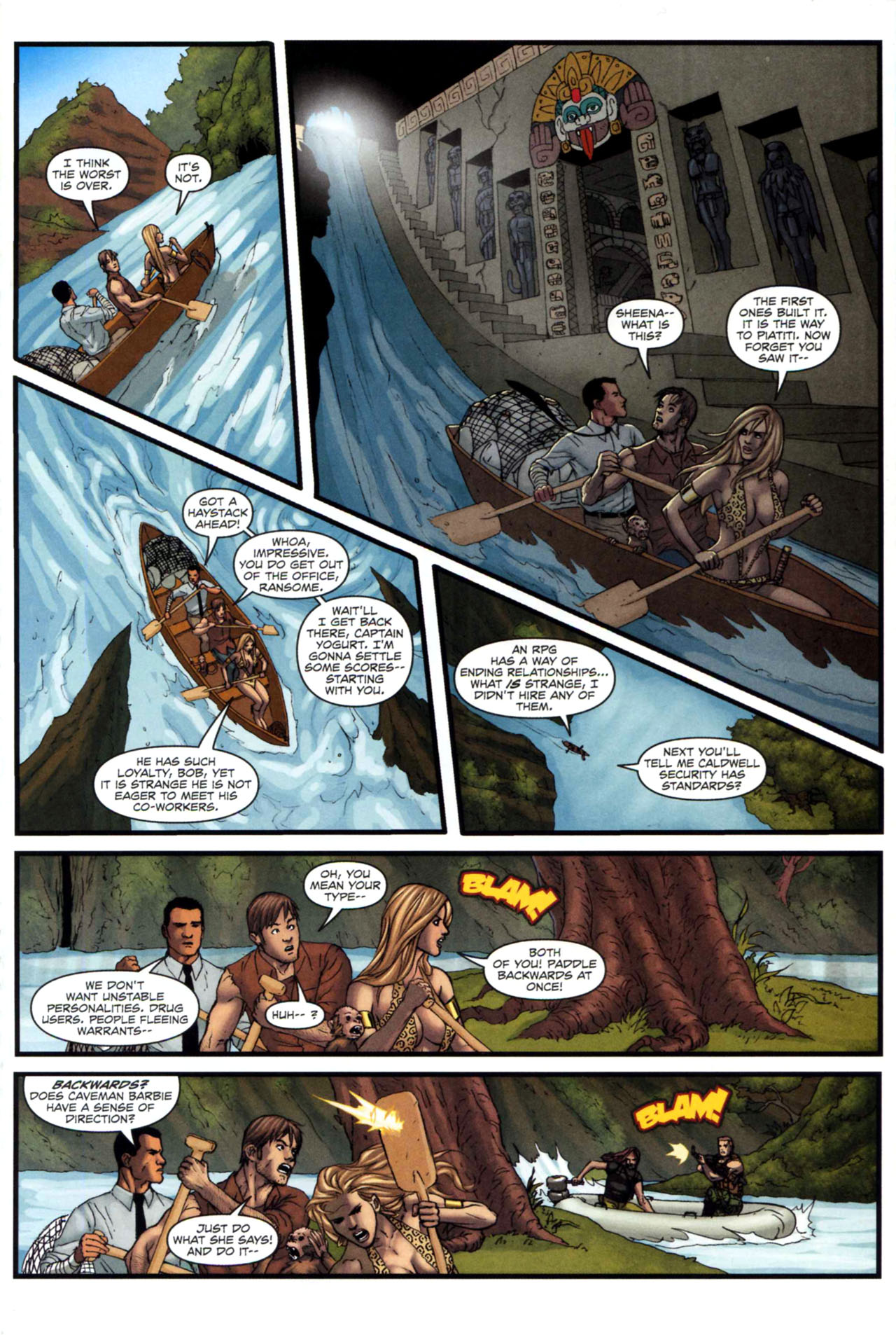 Read online Sheena, Queen of the Jungle comic -  Issue #5 - 18
