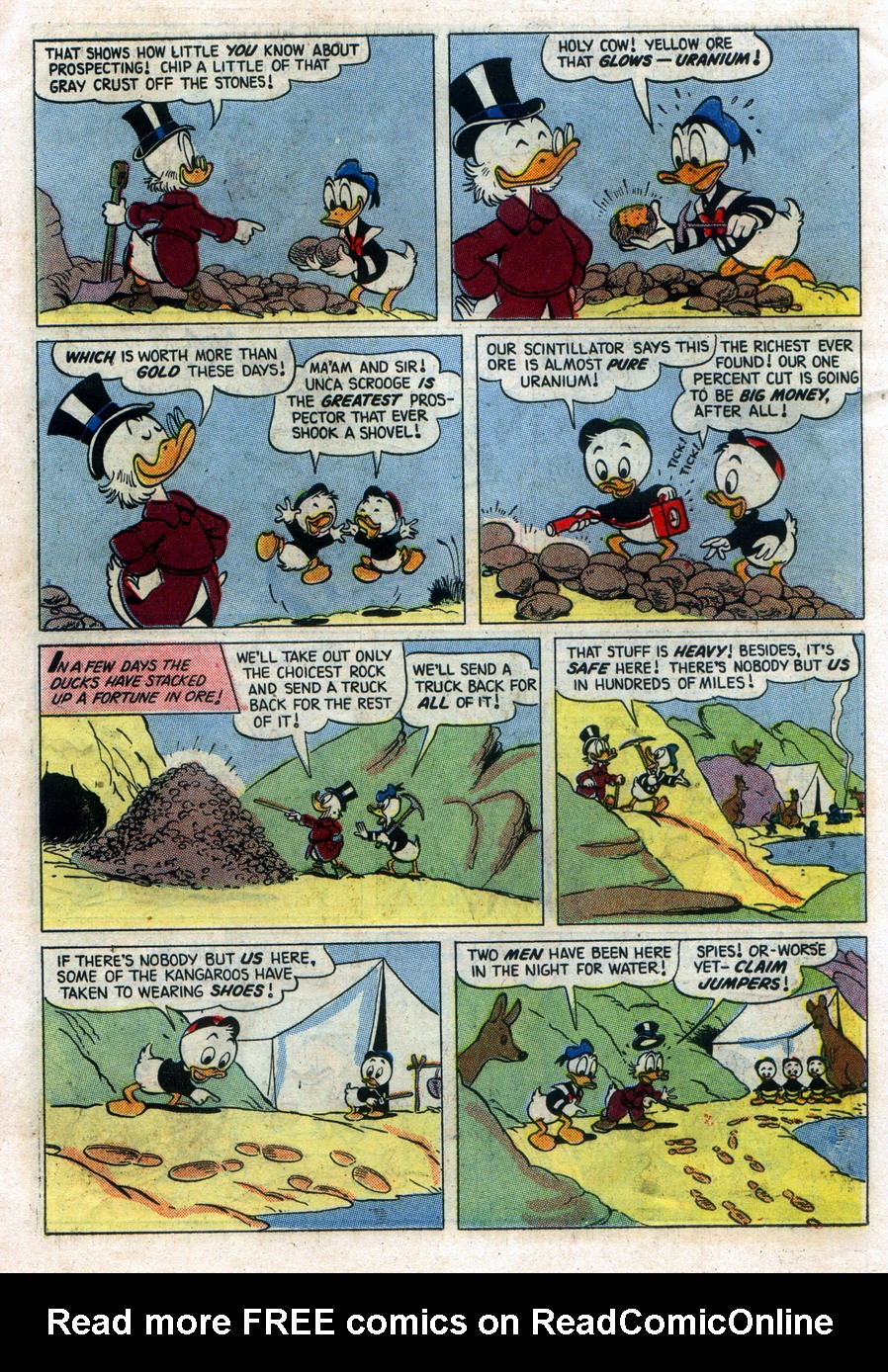 Read online Uncle Scrooge (1953) comic -  Issue #11 - 26