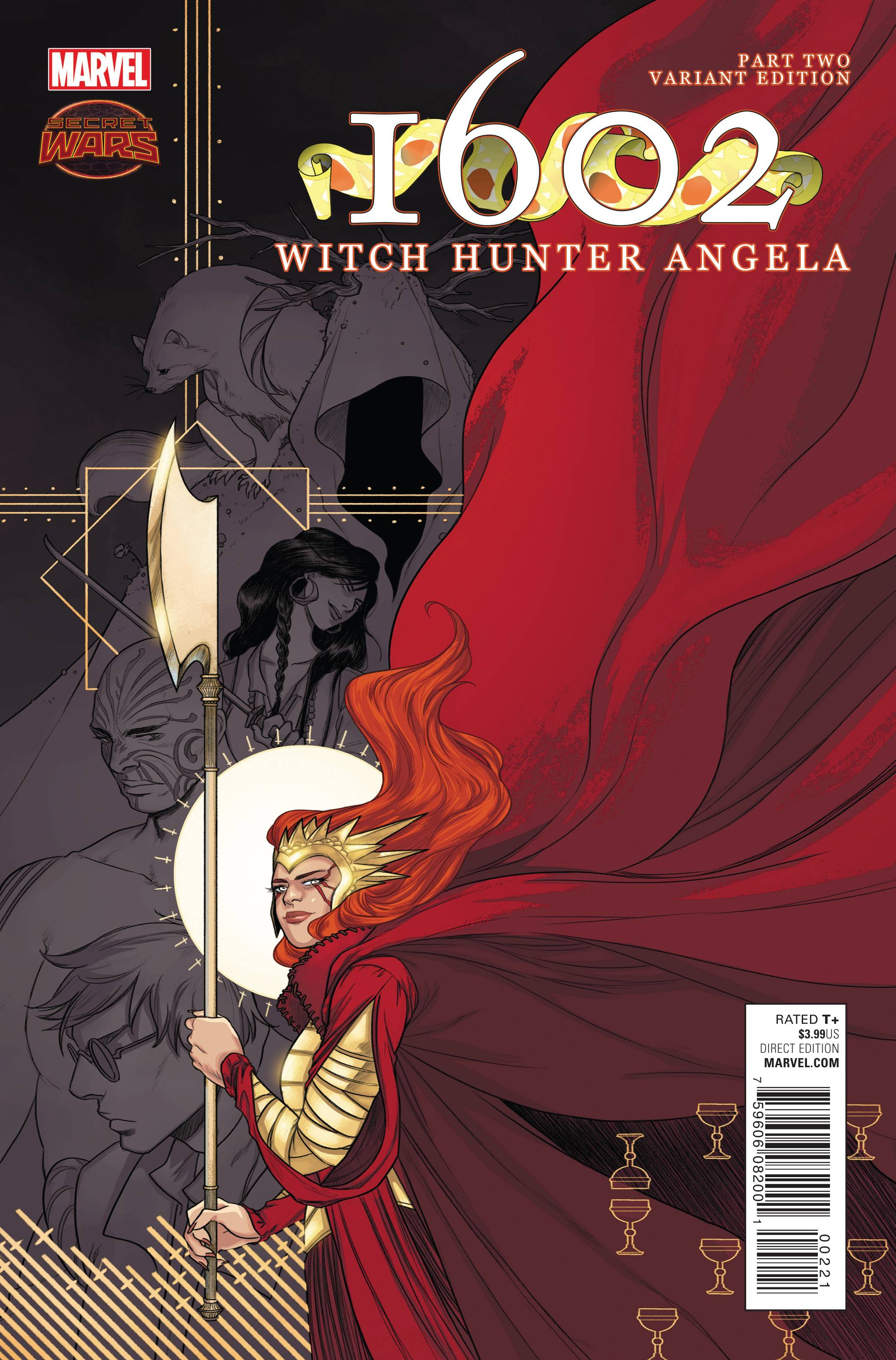 Read online 1602 Witch Hunter Angela comic -  Issue #2 - 2