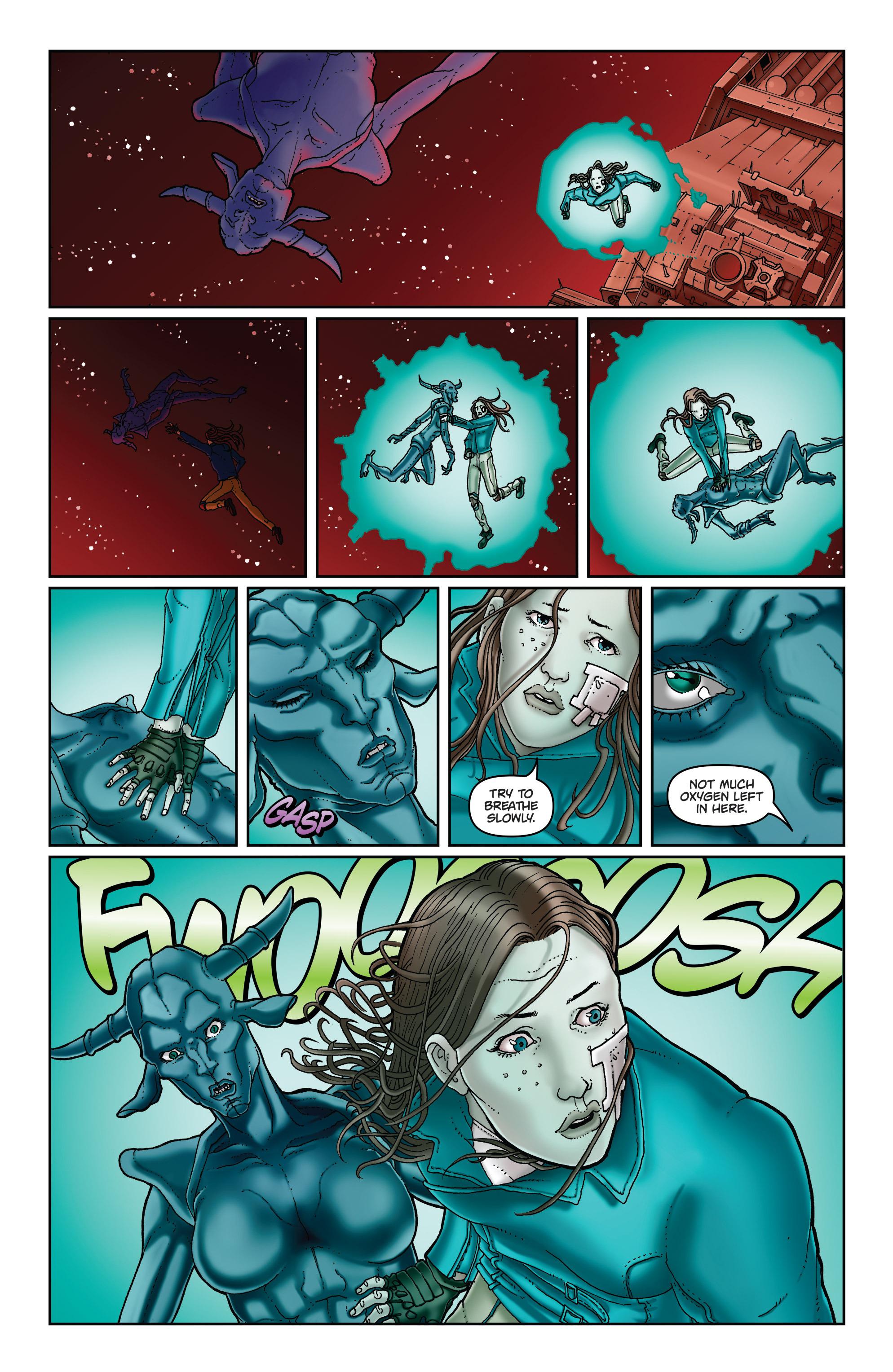 Read online Satellite Falling comic -  Issue #5 - 7