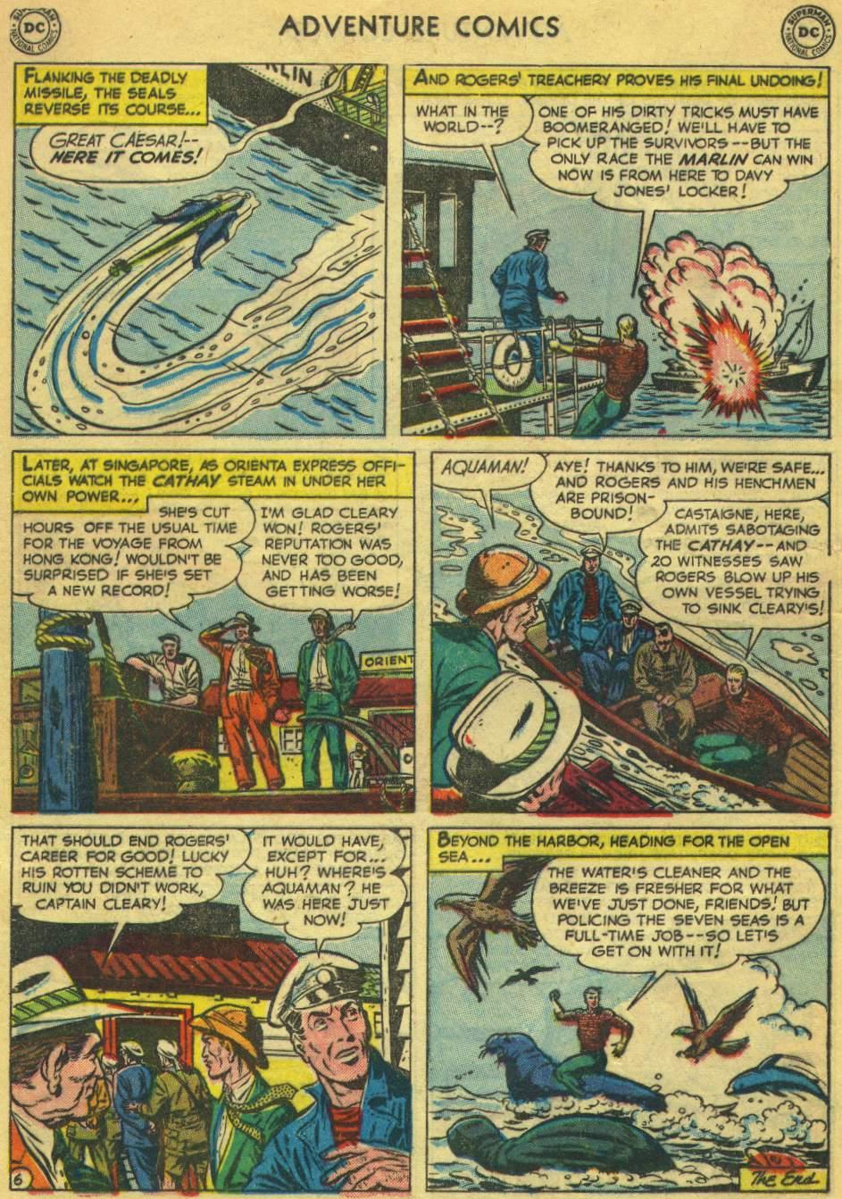 Read online Adventure Comics (1938) comic -  Issue #168 - 22