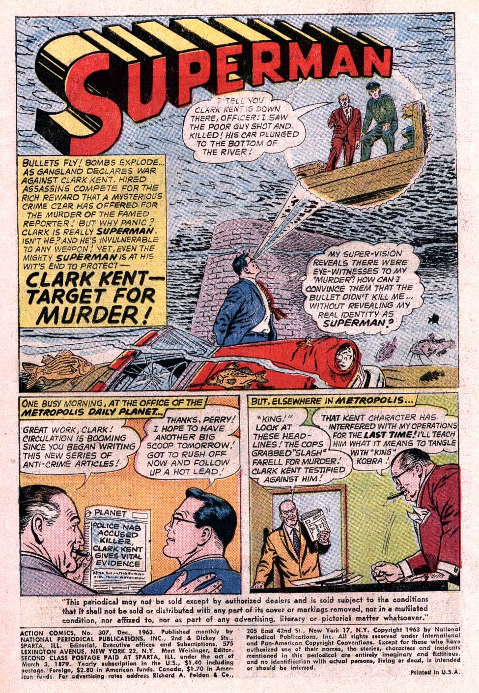 Read online Action Comics (1938) comic -  Issue #307 - 2