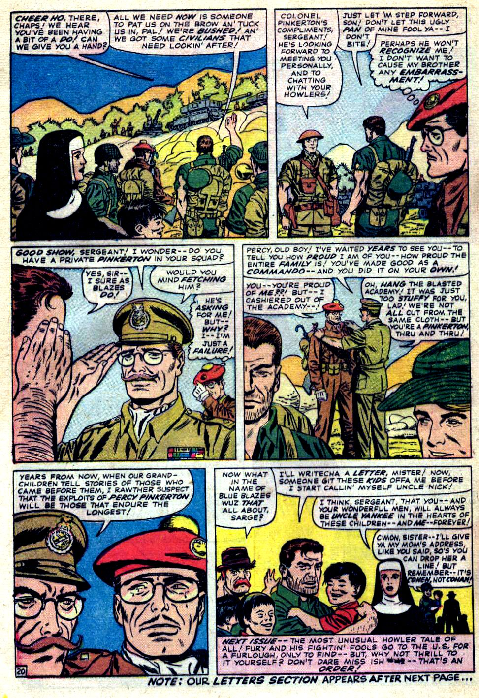 Read online Sgt. Fury comic -  Issue #23 - 28