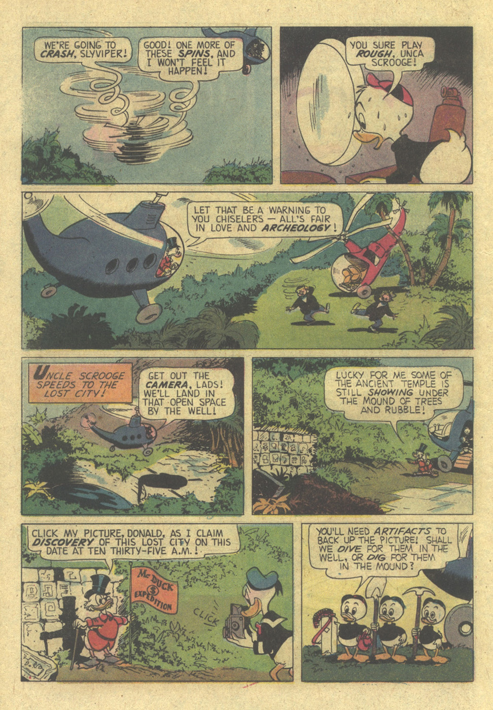 Read online Uncle Scrooge (1953) comic -  Issue #113 - 12