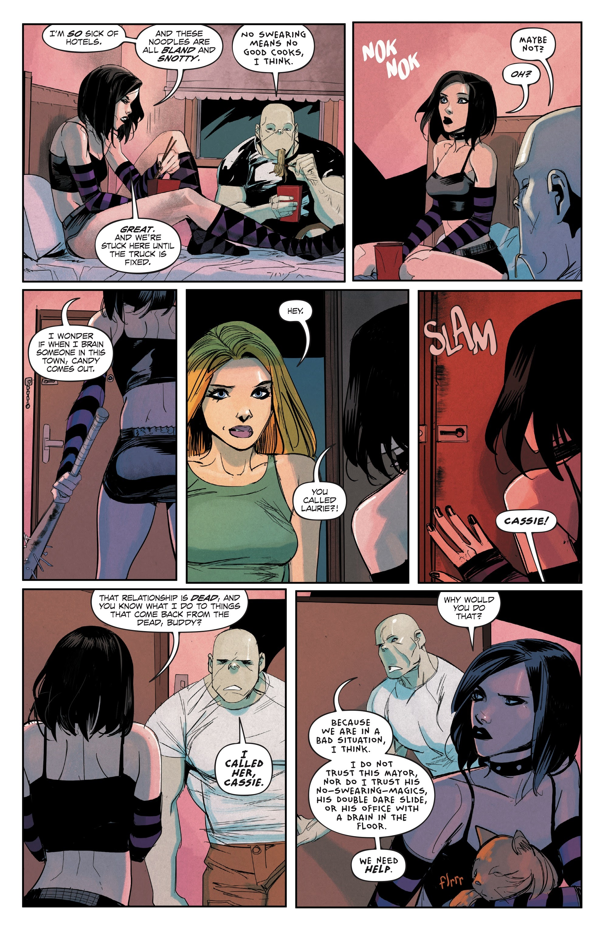 Hack/Slash Omnibus issue TPB_6_(Part_5) - Page 1