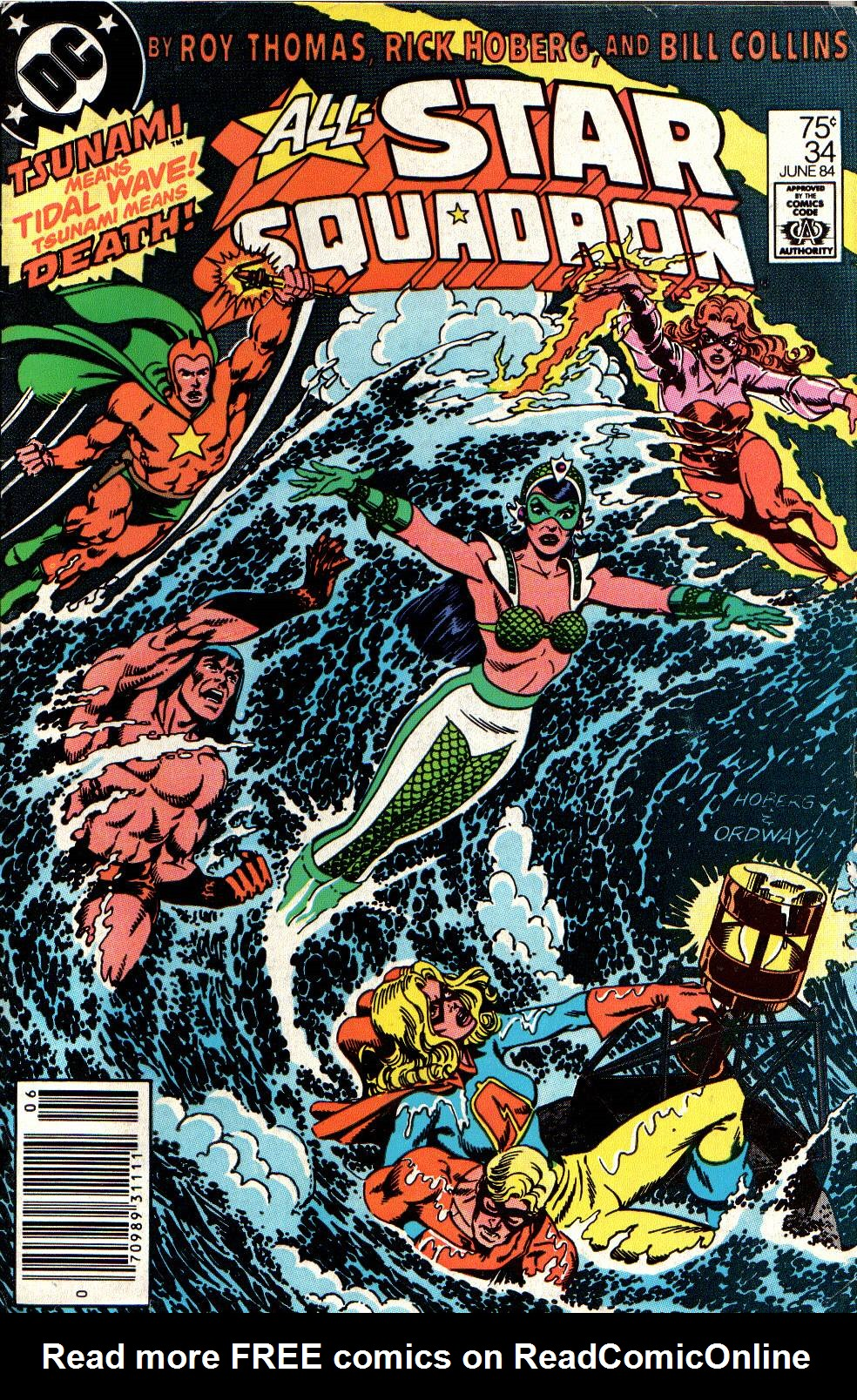 Read online All-Star Squadron comic -  Issue #34 - 1