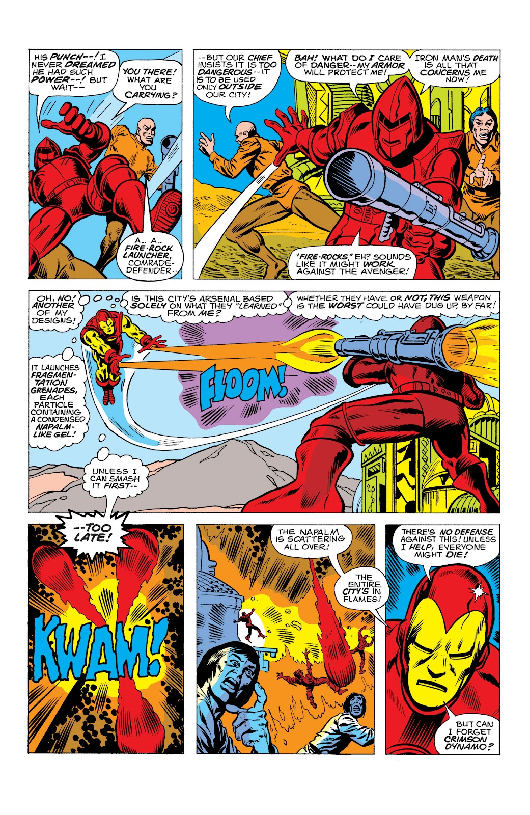 Read online Marvel Masterworks: The Invincible Iron Man comic -  Issue # TPB 10 (Part 2) - 12
