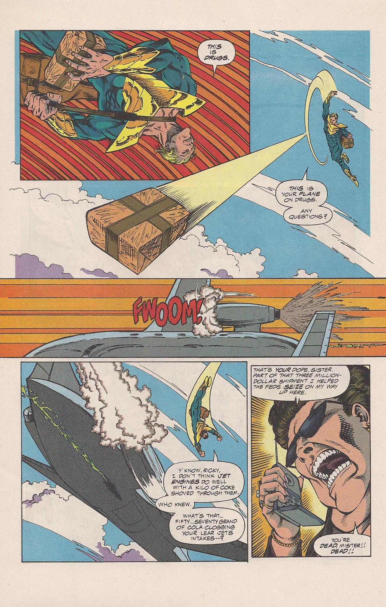 Read online Triumph comic -  Issue #2 - 9