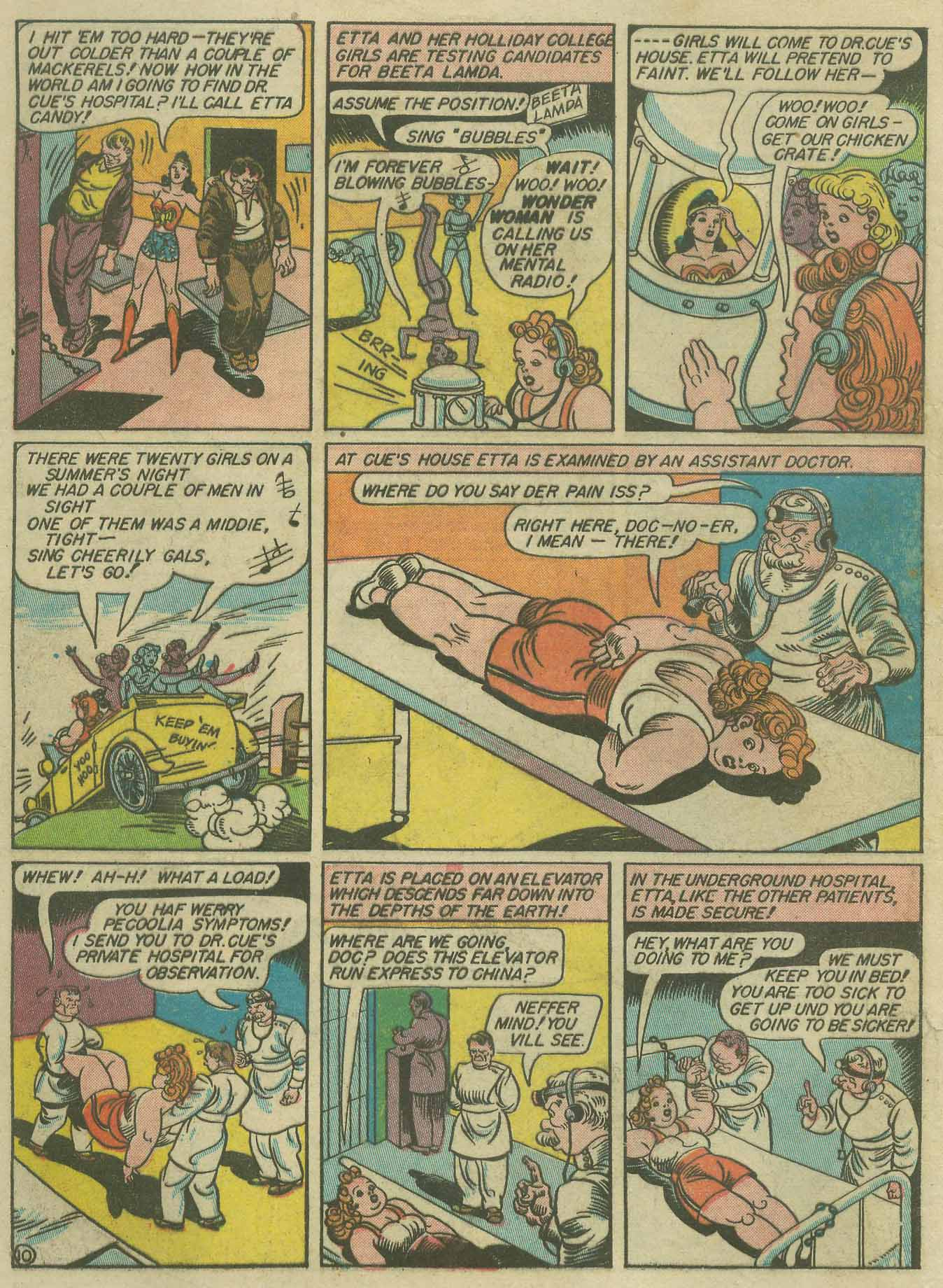 Read online Sensation (Mystery) Comics comic -  Issue #9 - 12