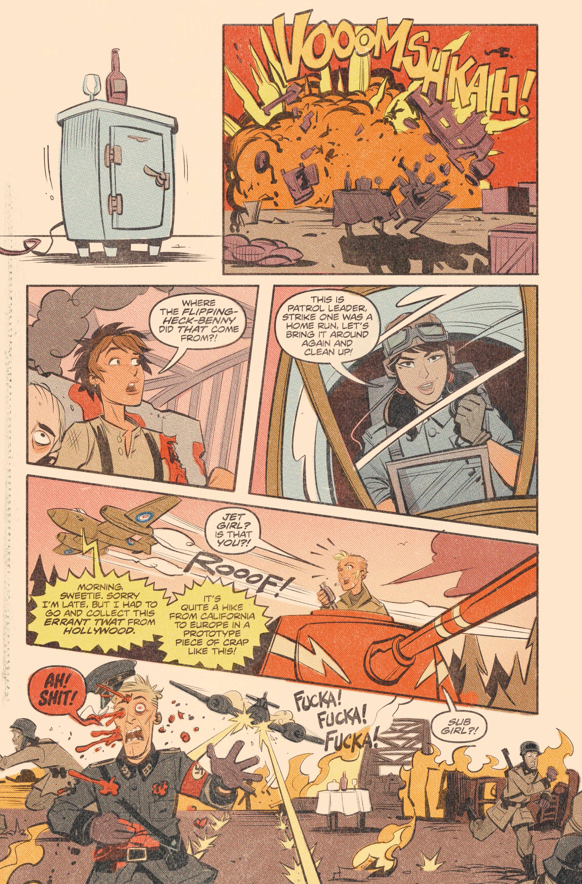 Read online Tank Girl: World War Tank Girl comic -  Issue #2 - 20