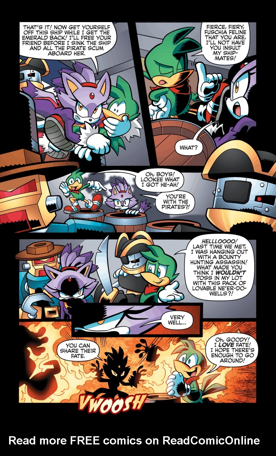 Read online Sonic Universe comic -  Issue #55 - 14
