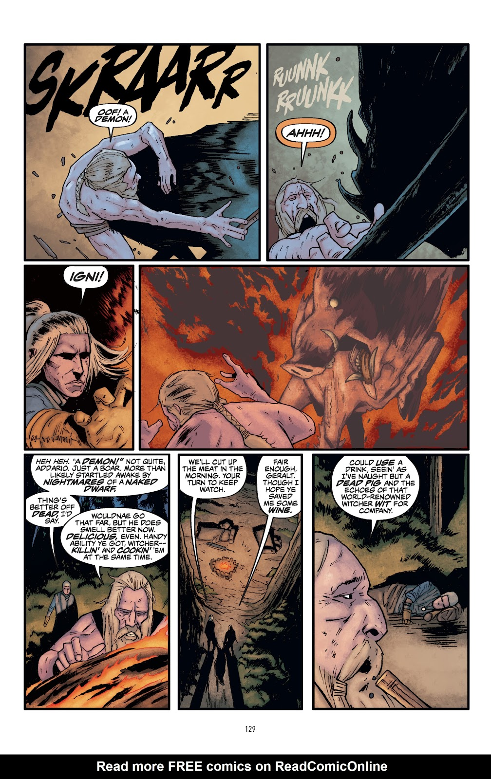 Read online The Witcher Omnibus comic -  Issue # TPB (Part 2) - 31