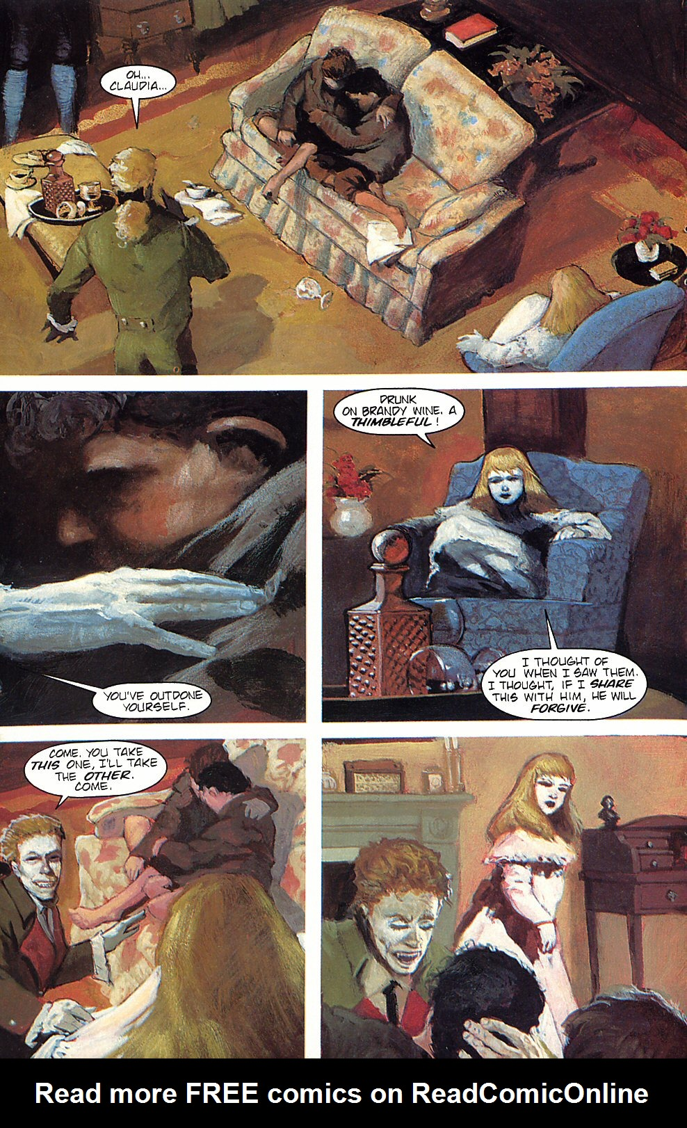 Read online Anne Rice's Interview with the Vampire comic -  Issue #5 - 14
