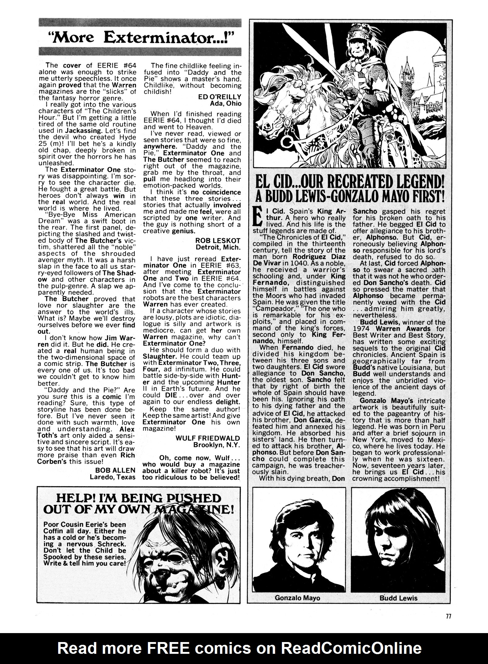 Read online Eerie Archives comic -  Issue # TPB 14 - 78