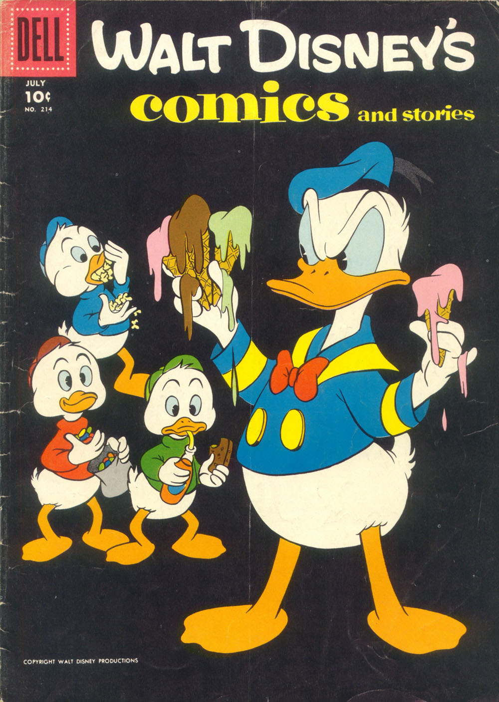Walt Disney's Comics and Stories issue 214 - Page 1