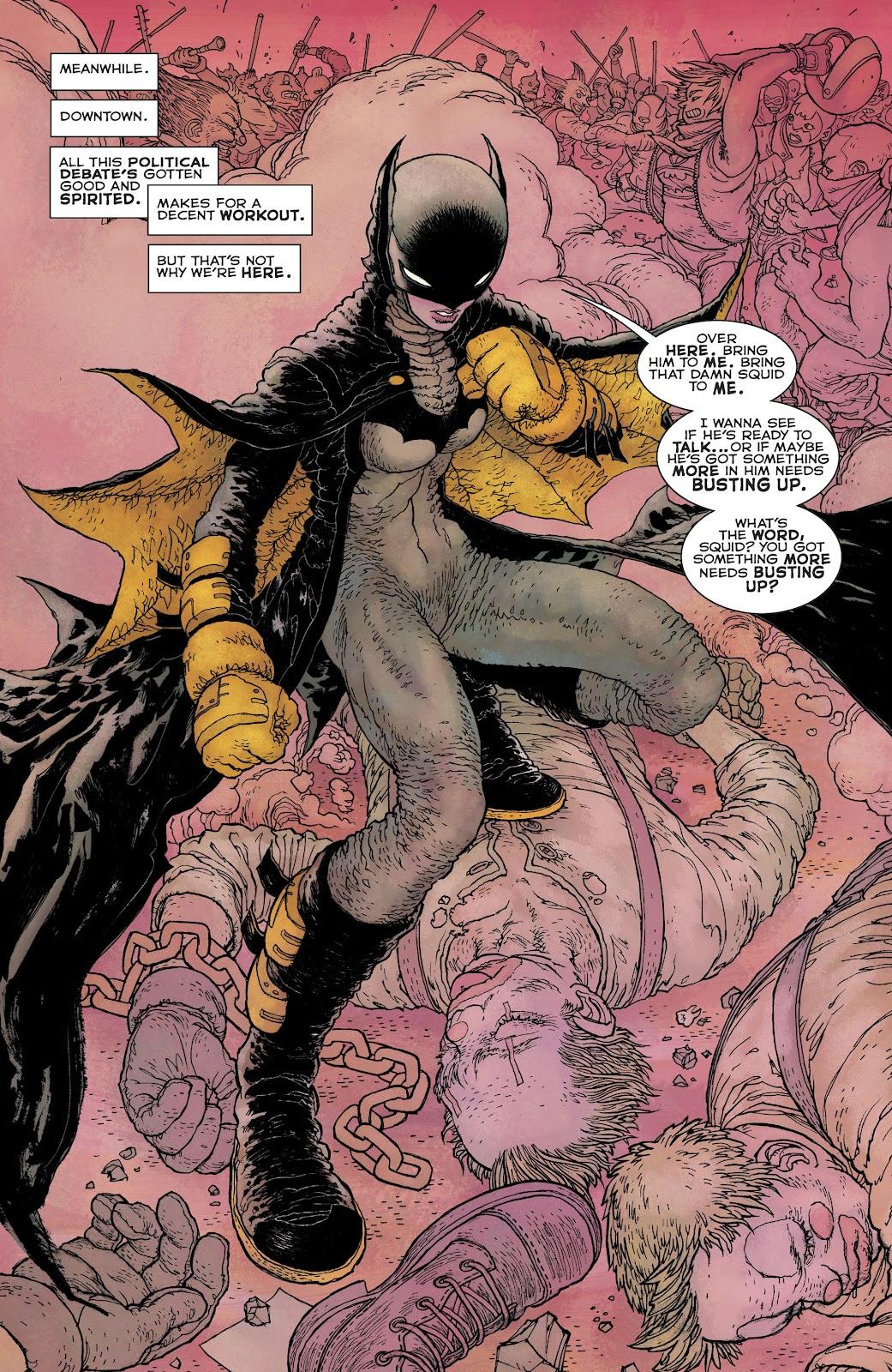 Dark Knight Returns: The Golden Child issue Full - Page 16
