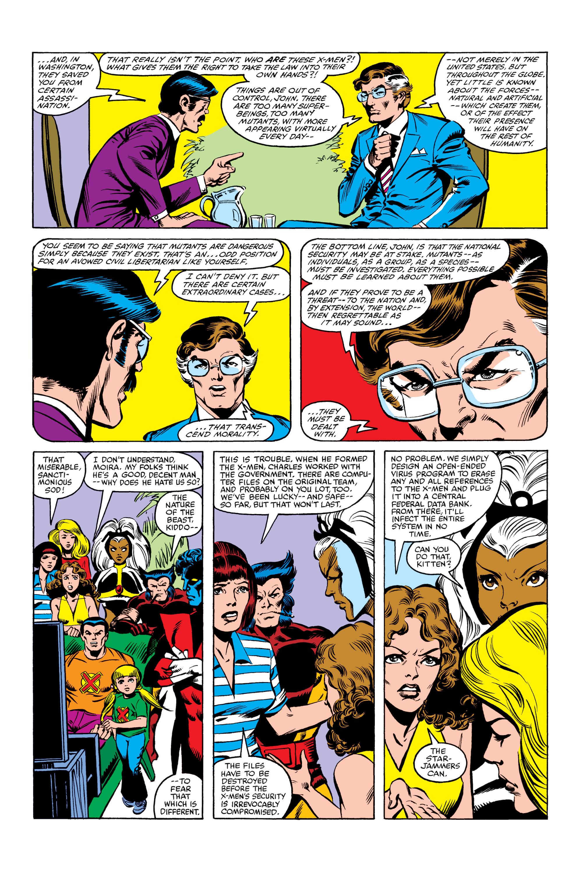 Read online Uncanny X-Men (1963) comic -  Issue #158 - 10