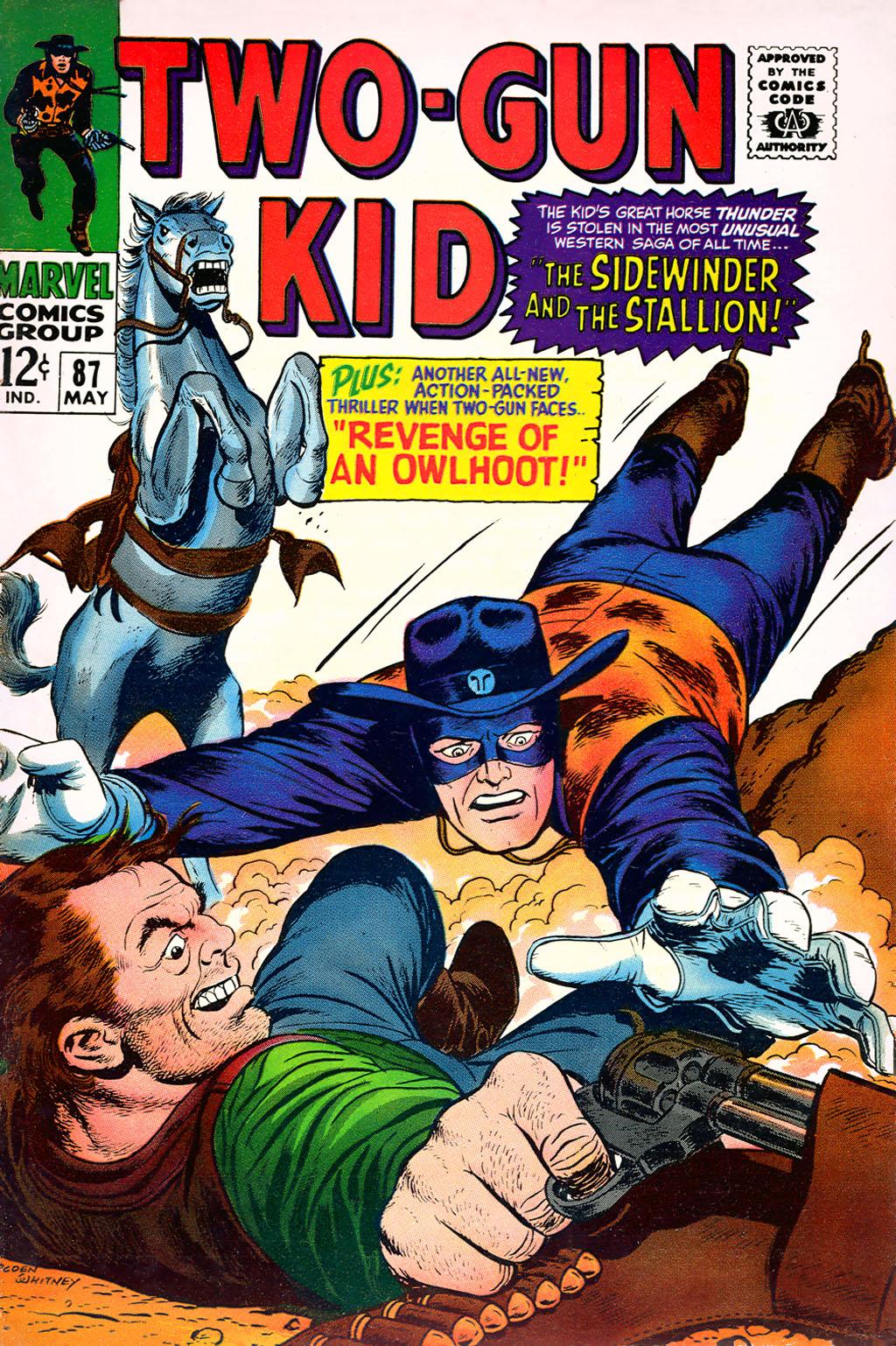 Read online Two-Gun Kid comic -  Issue #87 - 1