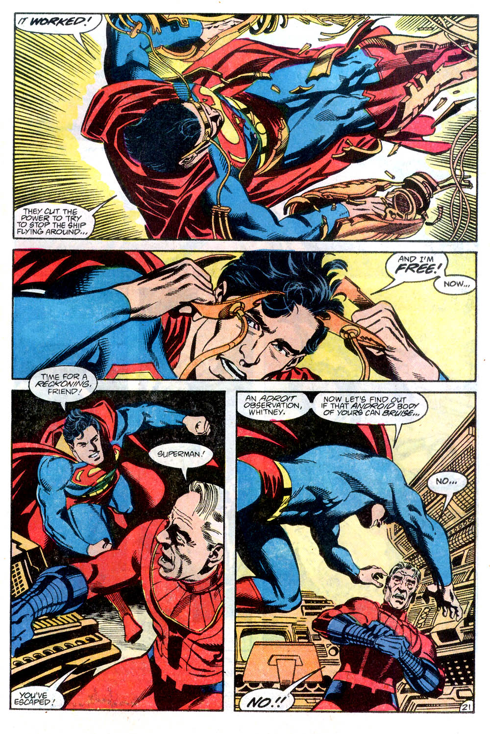 Read online Adventures of Superman (1987) comic -  Issue #436 - 22