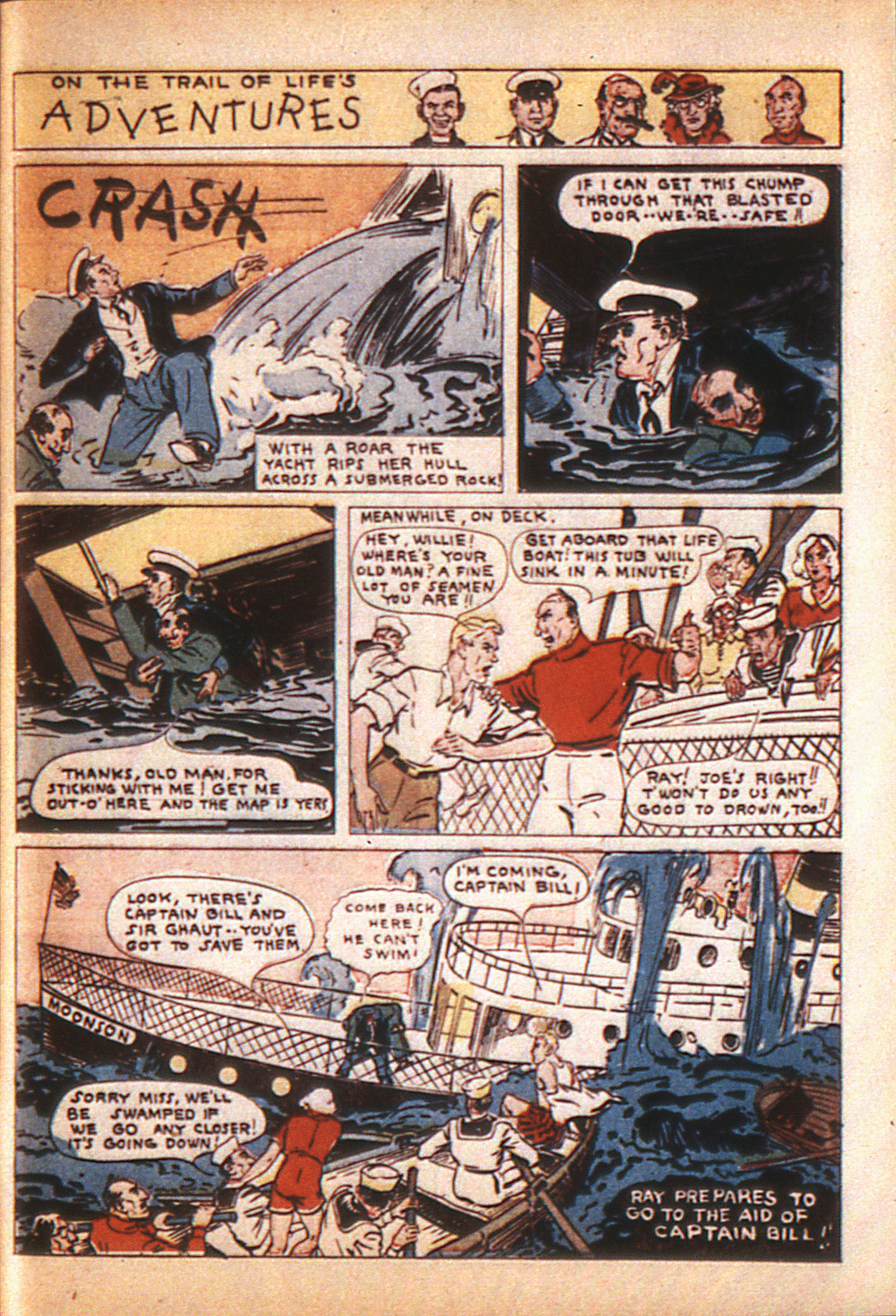 Read online Adventure Comics (1938) comic -  Issue #8 - 58