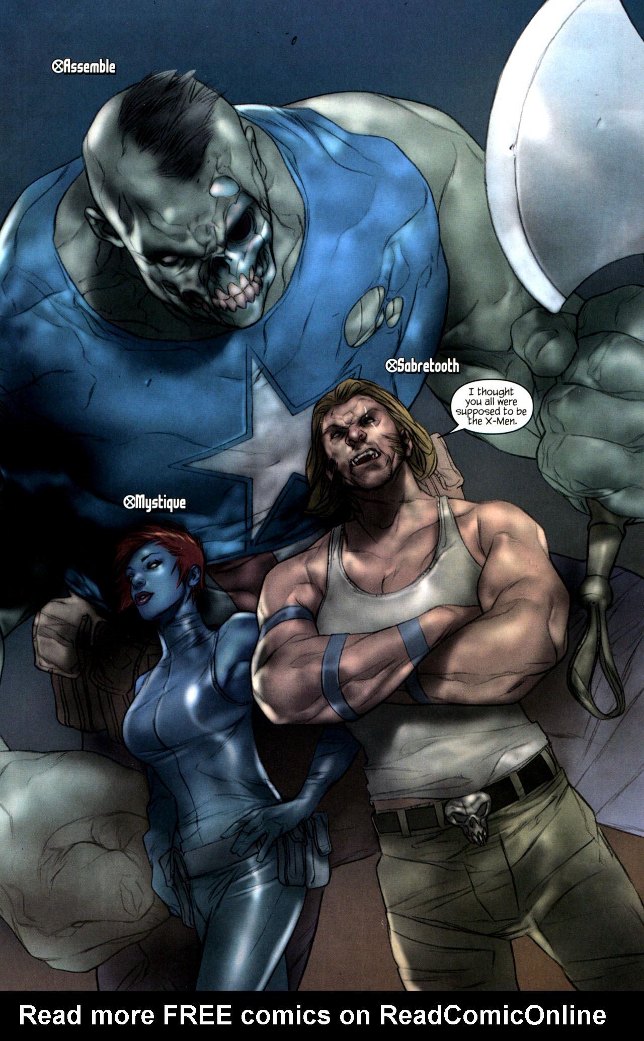 Read online Ultimatum: X-Men Requiem comic -  Issue # Full - 14