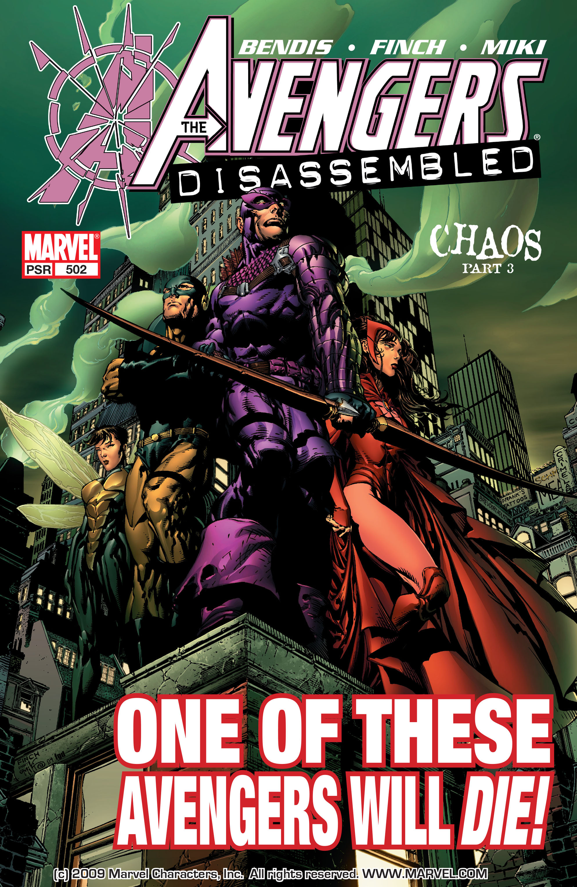 Read online Avengers (1998) comic -  Issue #502 - 1