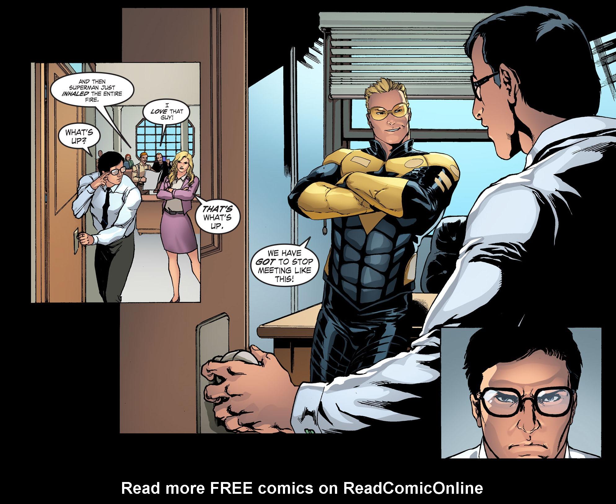 Read online Smallville: Season 11 comic -  Issue #42 - 18