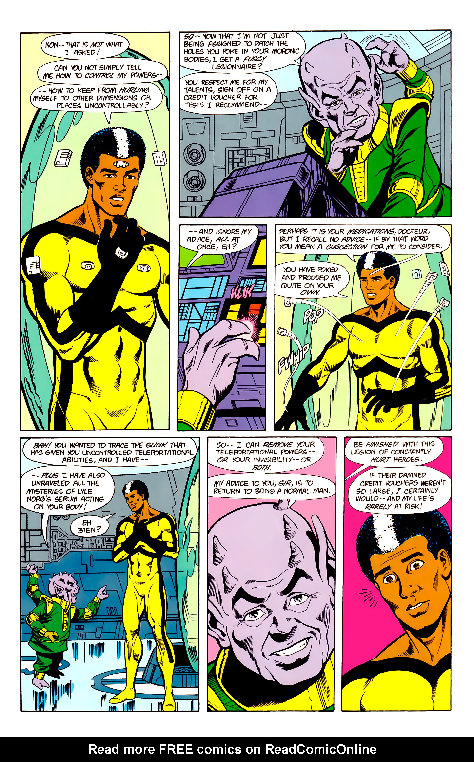 Legion of Super-Heroes (1984) 19 Page 22