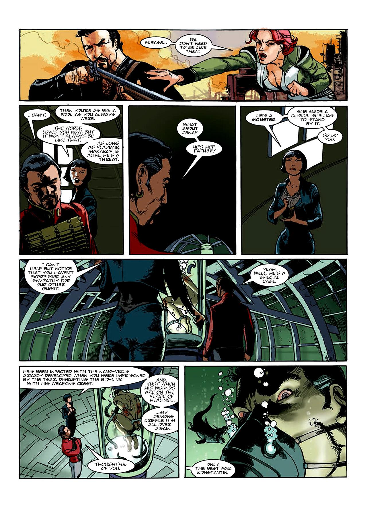 Read online Nikolai Dante comic -  Issue # TPB 10 - 88