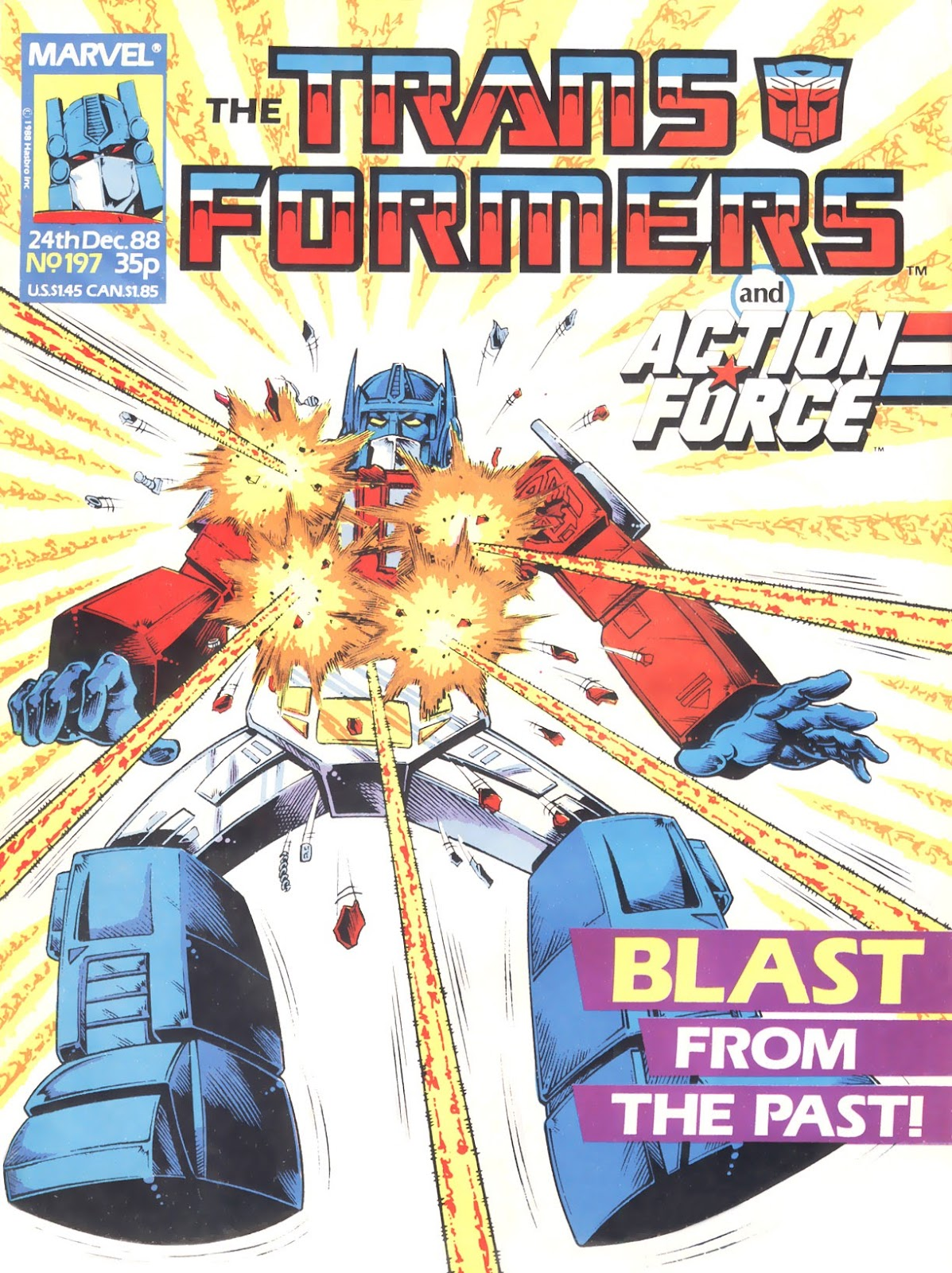 The Transformers (UK) 197 Page 1