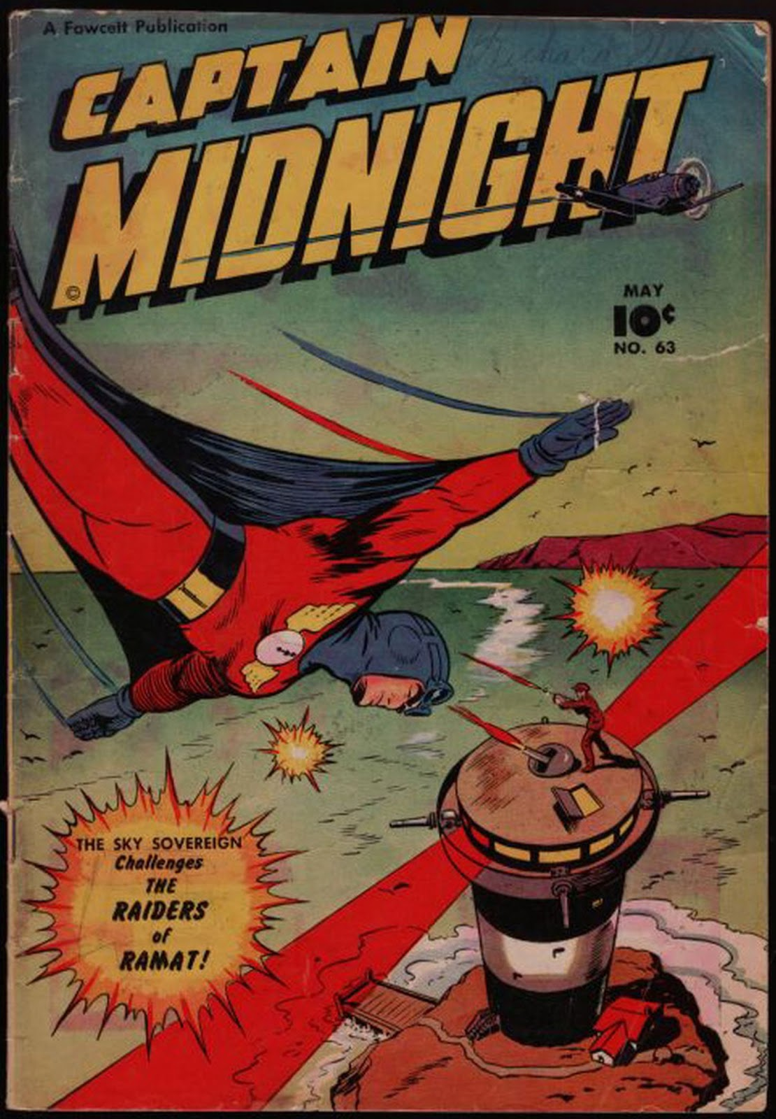Captain Midnight (1942) 63 Page 1