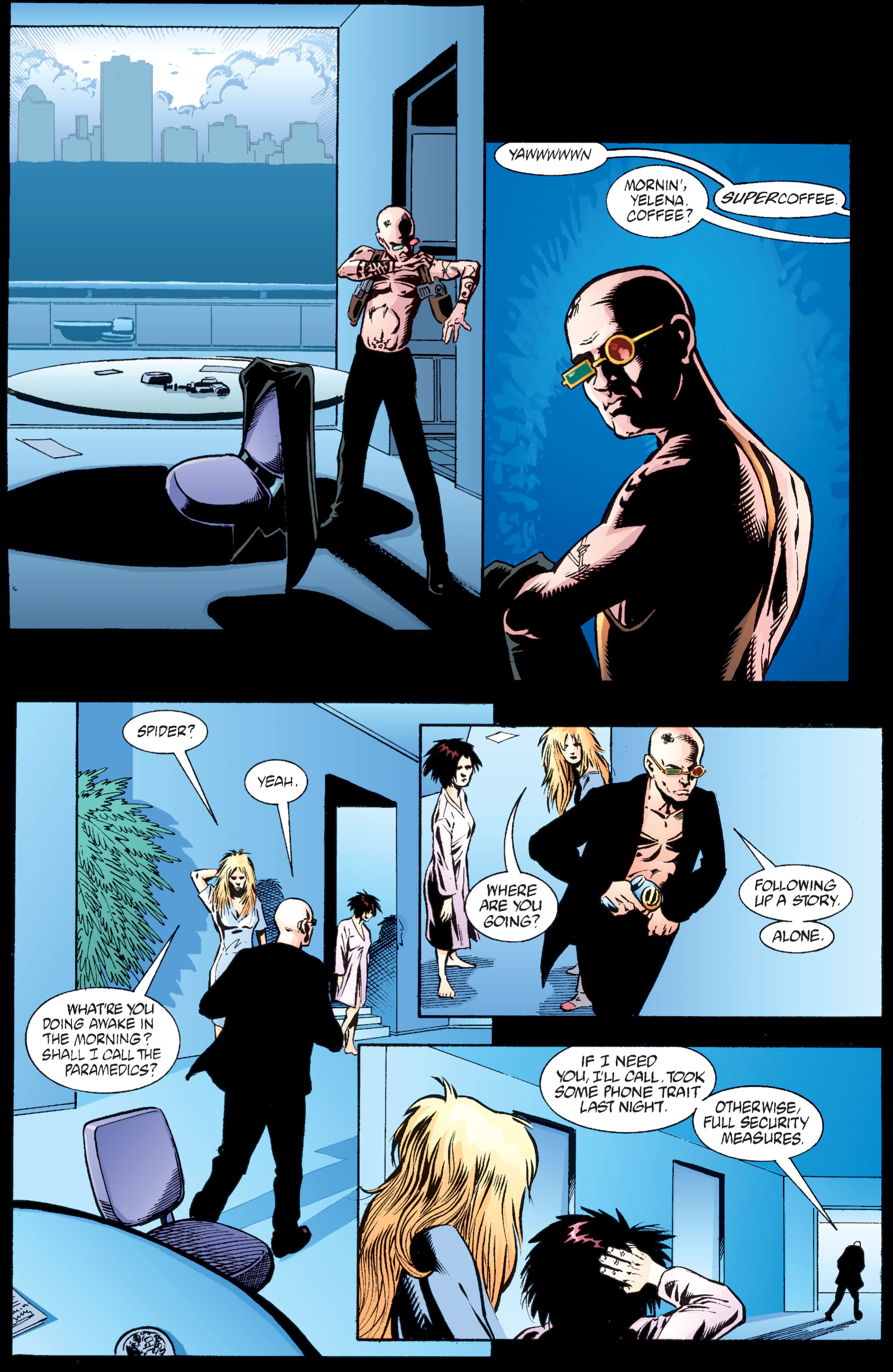 Read online Transmetropolitan comic -  Issue #34 - 8
