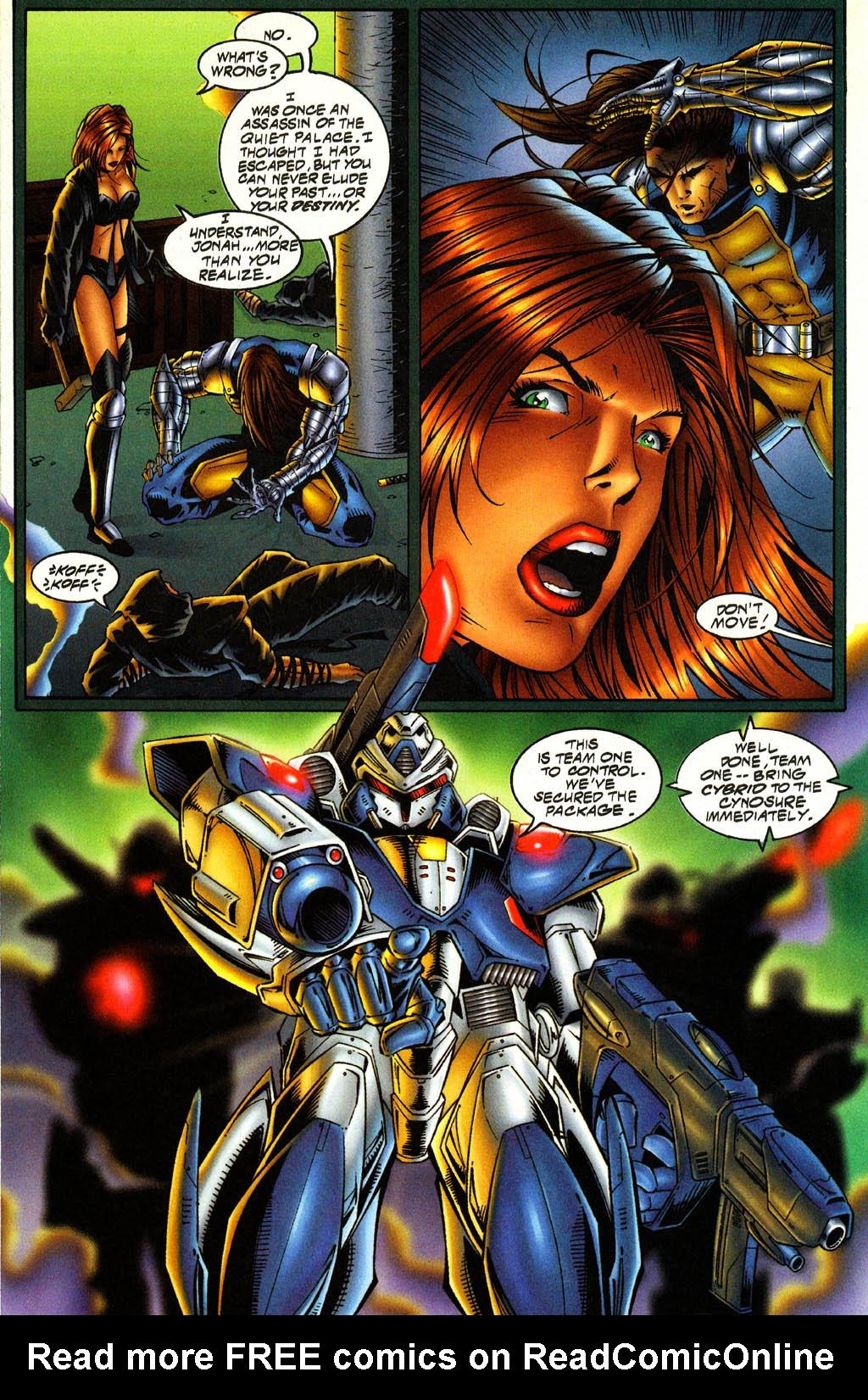 Read online Avengelyne (1996) comic -  Issue #4 - 14