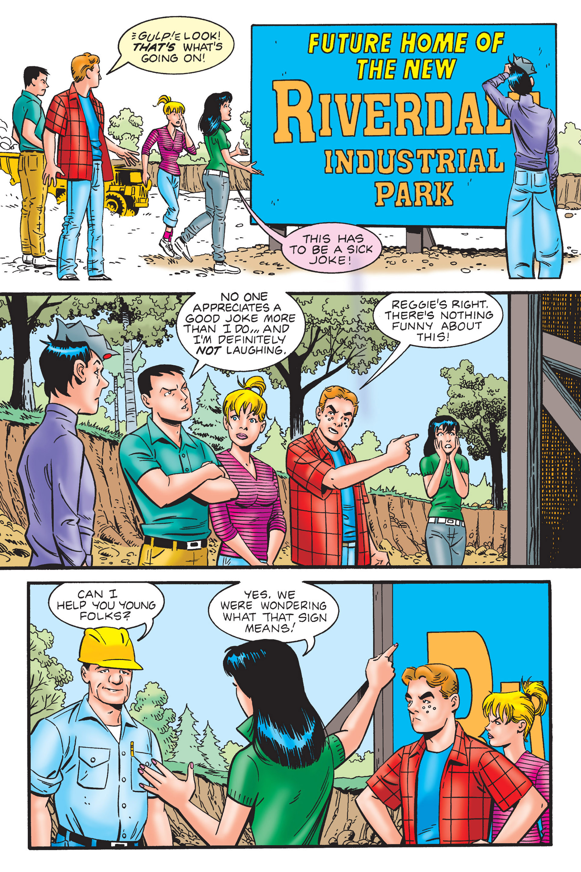 Read online Archie's New Look Series comic -  Issue #4 - 17