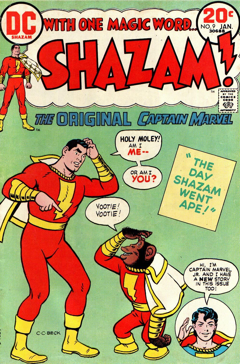 Read online Shazam! (1973) comic -  Issue #9 - 1