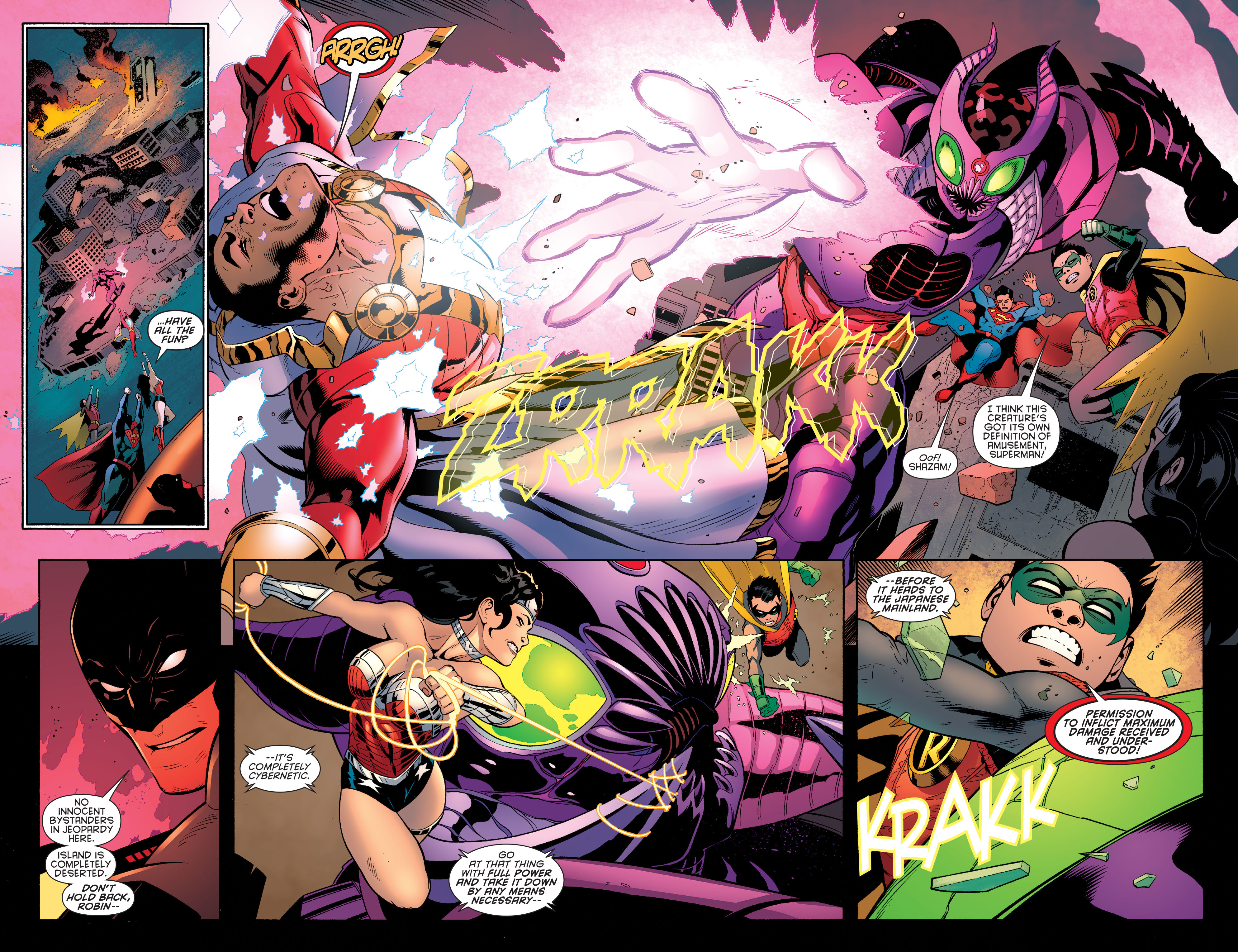 Read online Batman and Robin (2011) comic -  Issue #40 - 3