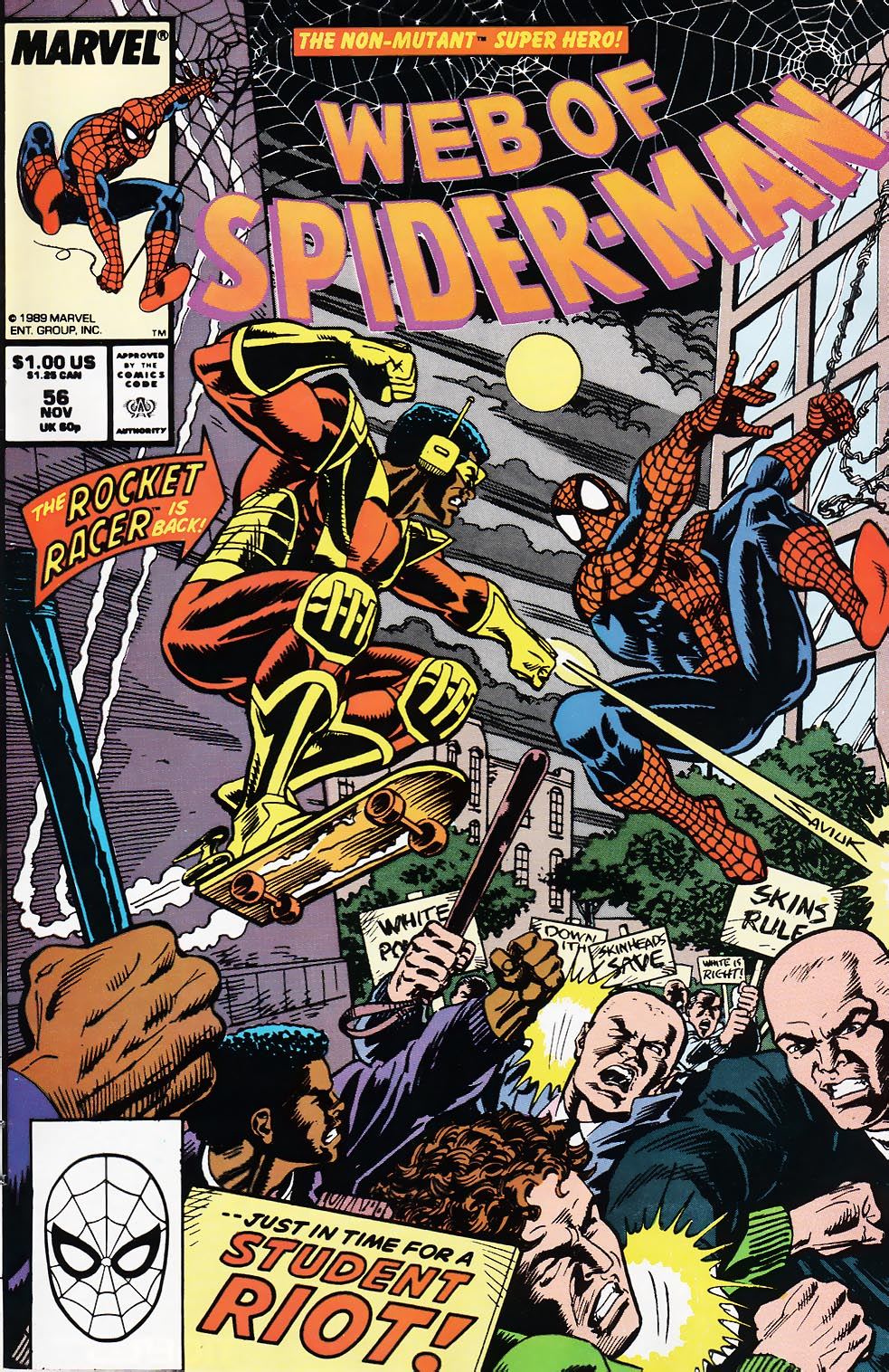 Web of Spider-Man (1985) 56 Page 1