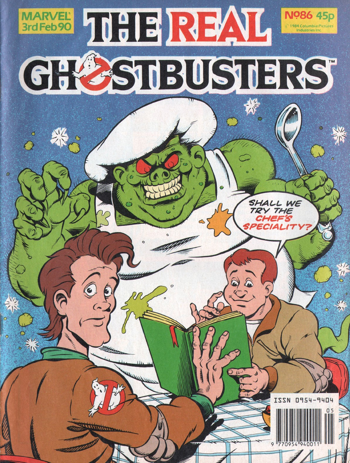 The Real Ghostbusters 86 Page 1