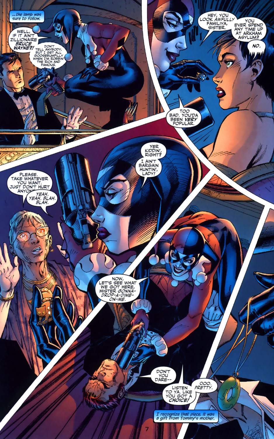 Read online Batman: Hush comic -  Issue #6 - 7