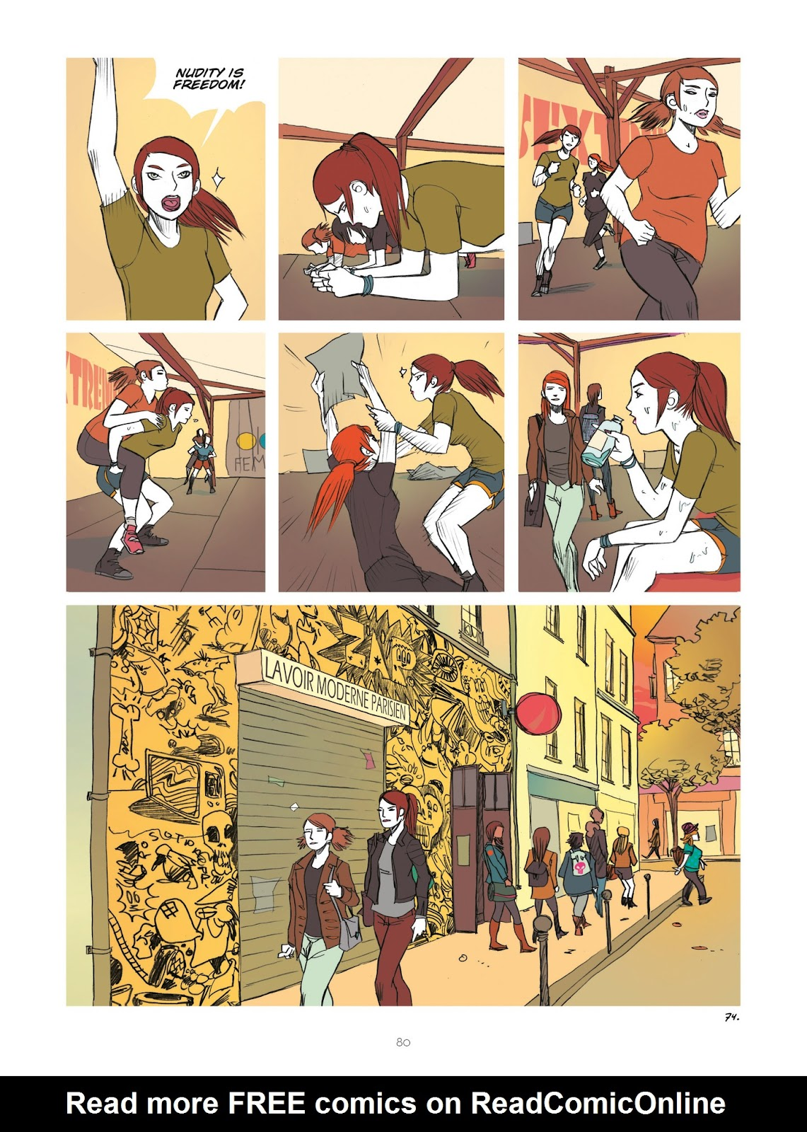 Read online Diary of A Femen comic -  Issue # TPB - 82