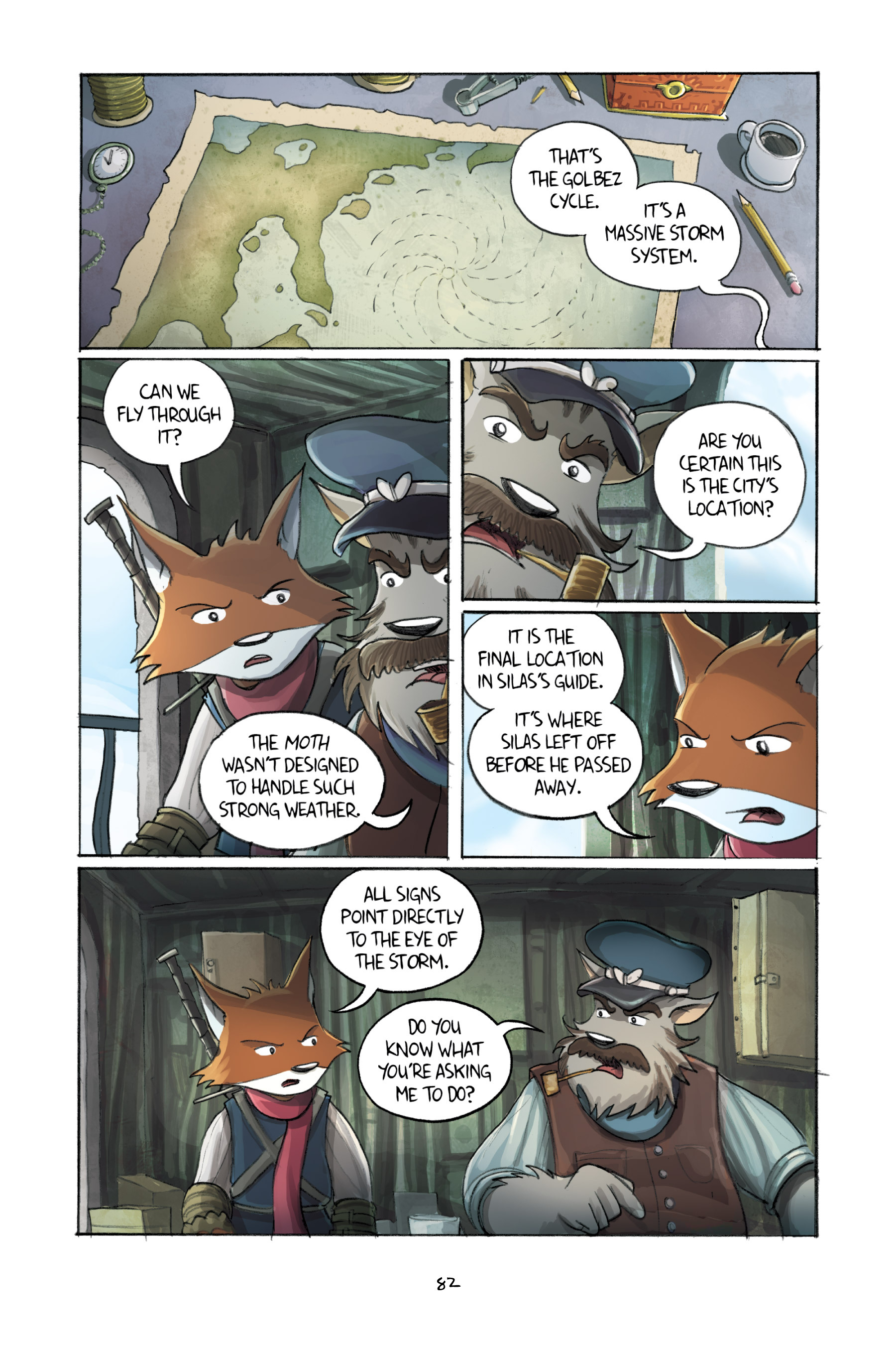 Read online Amulet comic -  Issue #3 - 80