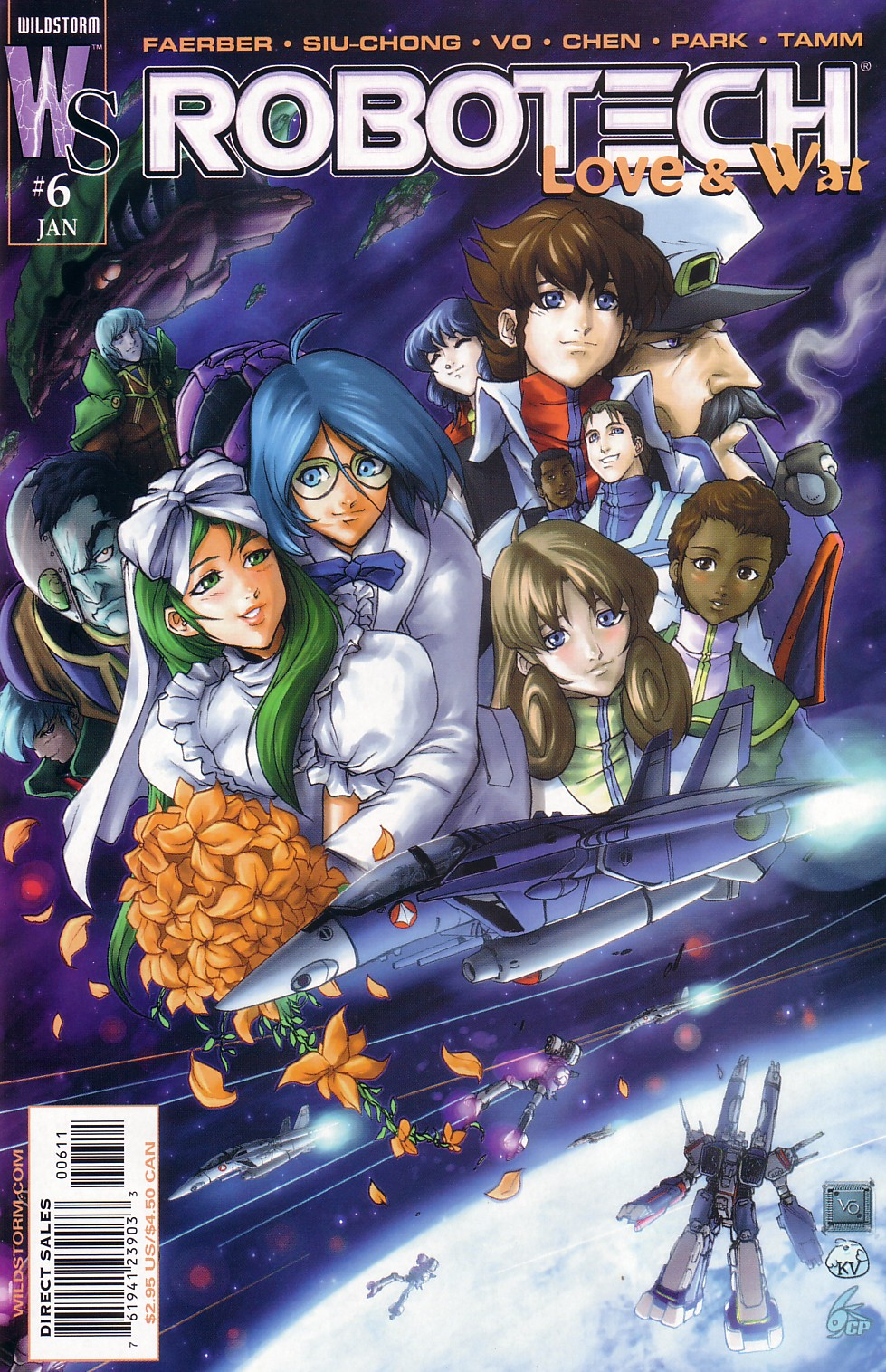 Read online Robotech: Love and War comic -  Issue #6 - 2